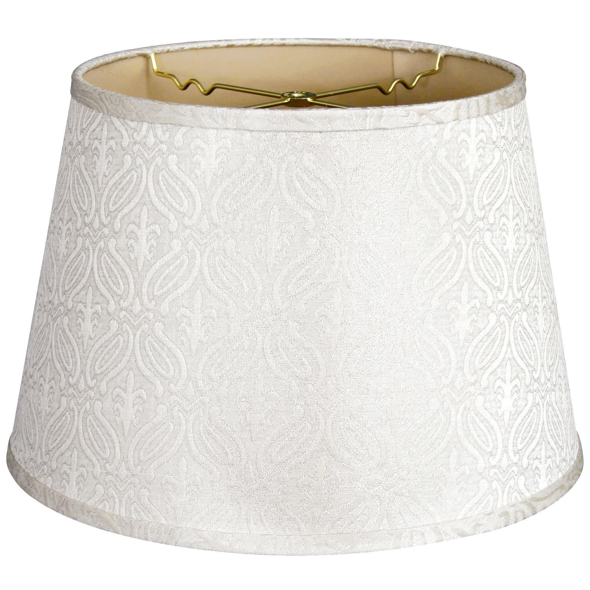 royaldesigns 18 timeless shantung shallow drum lamp shade. Black Bedroom Furniture Sets. Home Design Ideas