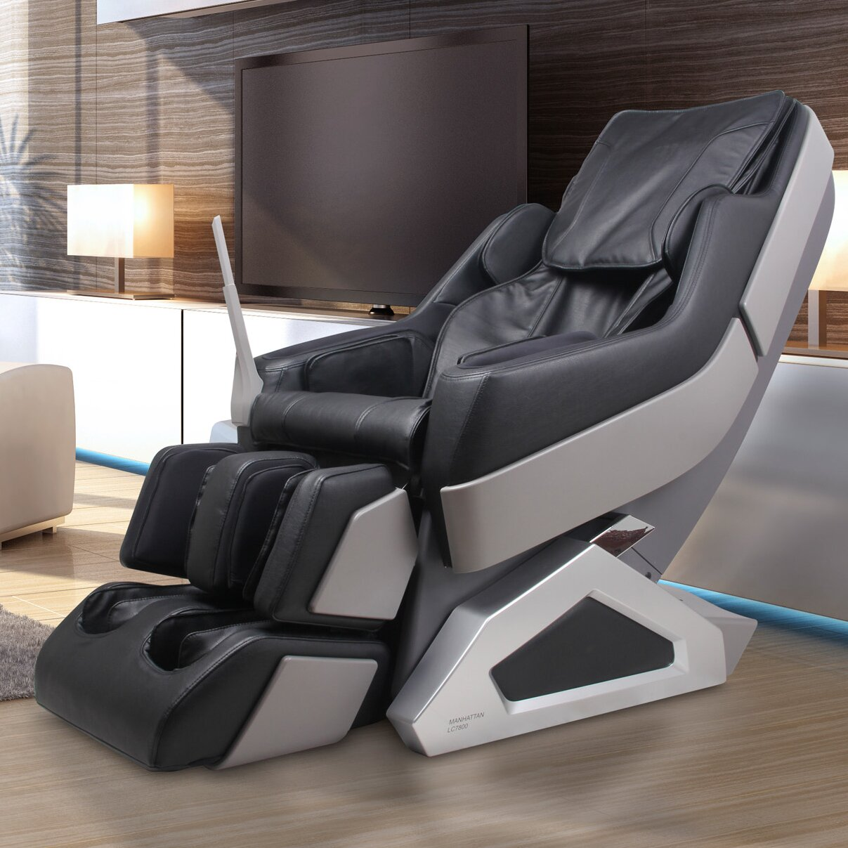Dynamic massage chairs manhattan edition zero gravity for Living room zero gravity chair