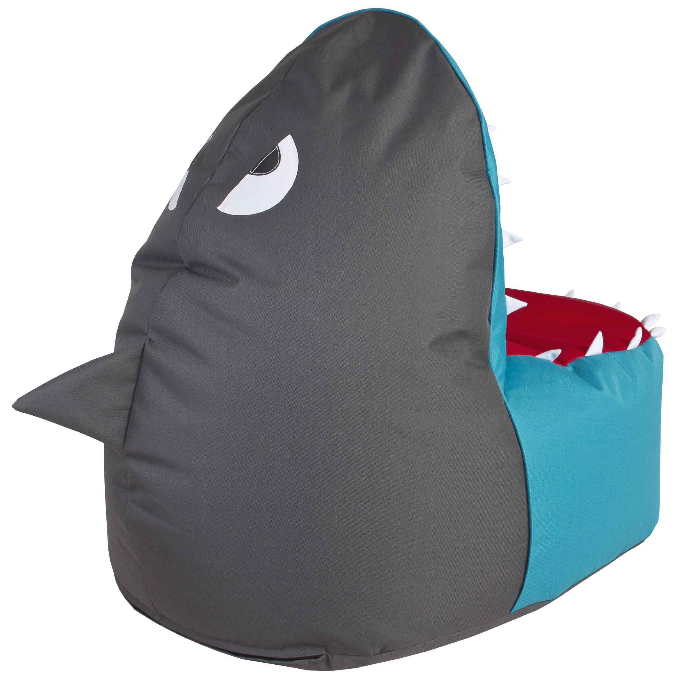sittingpoint shark brava bean bag chair wayfair. Black Bedroom Furniture Sets. Home Design Ideas
