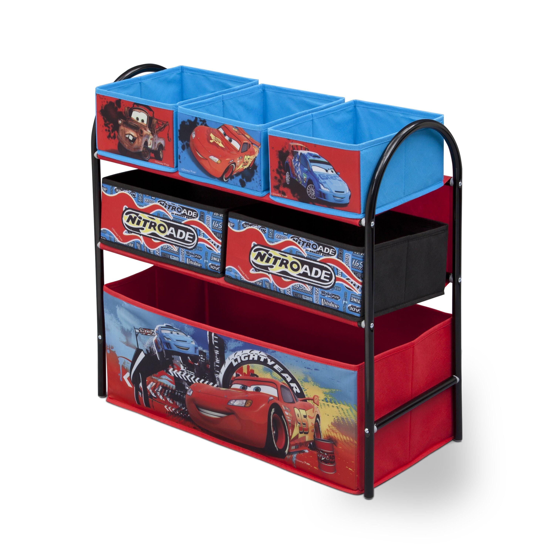 Car Toy Organizer : Deltachildren cars toy organizer reviews wayfair uk