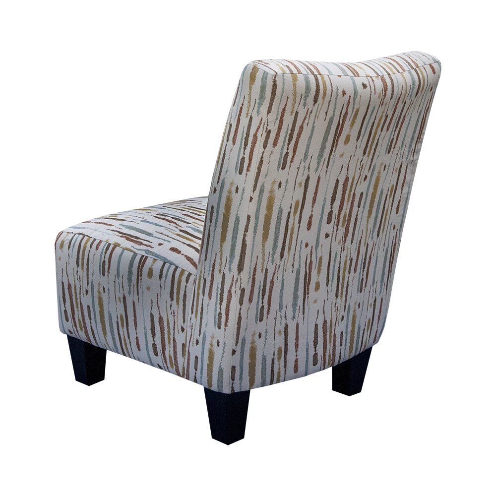 Graftonhome Spattered Armless Accent Chair Wayfair Ca