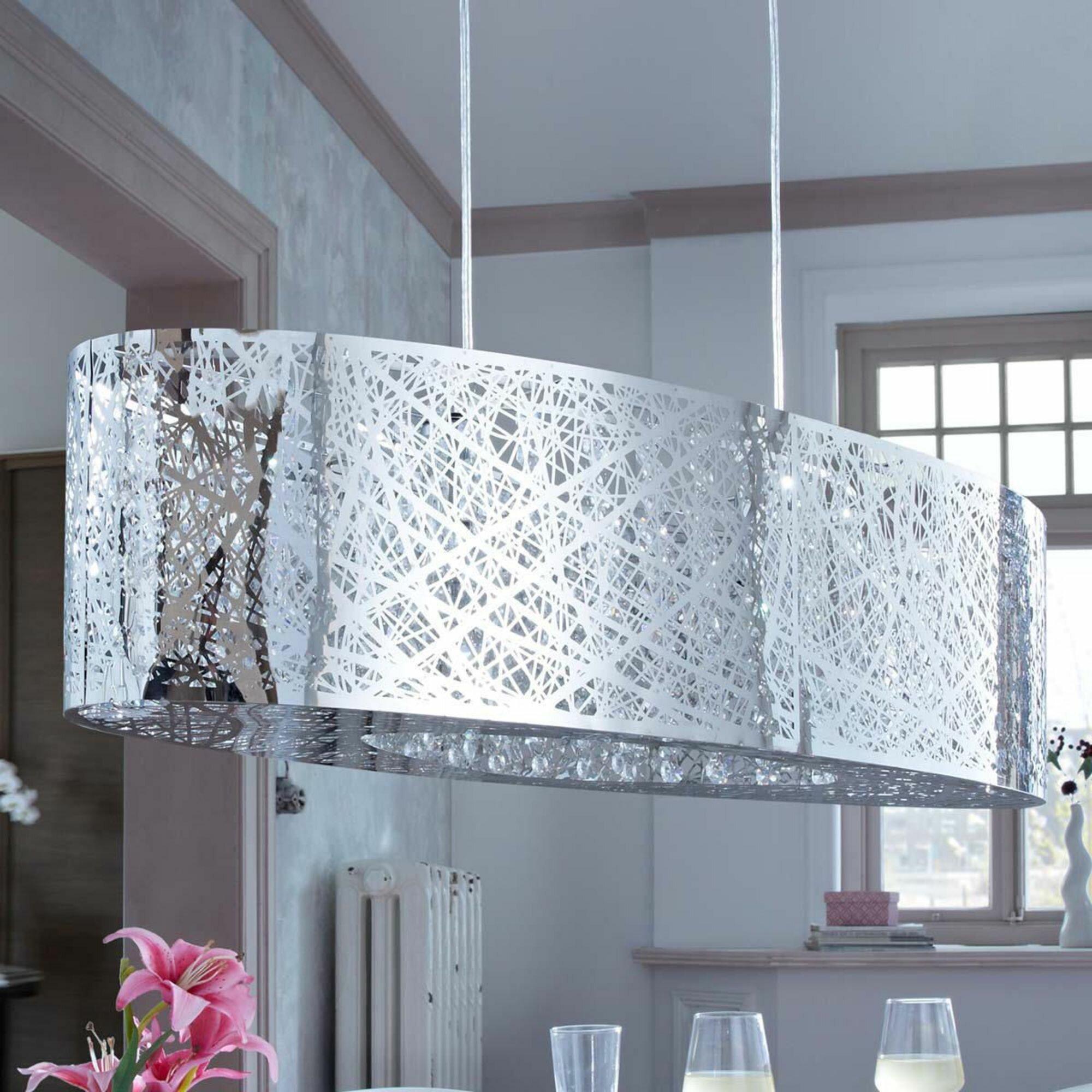 pureday kristall pendelleuchte 2 flammig grate bewertungen. Black Bedroom Furniture Sets. Home Design Ideas