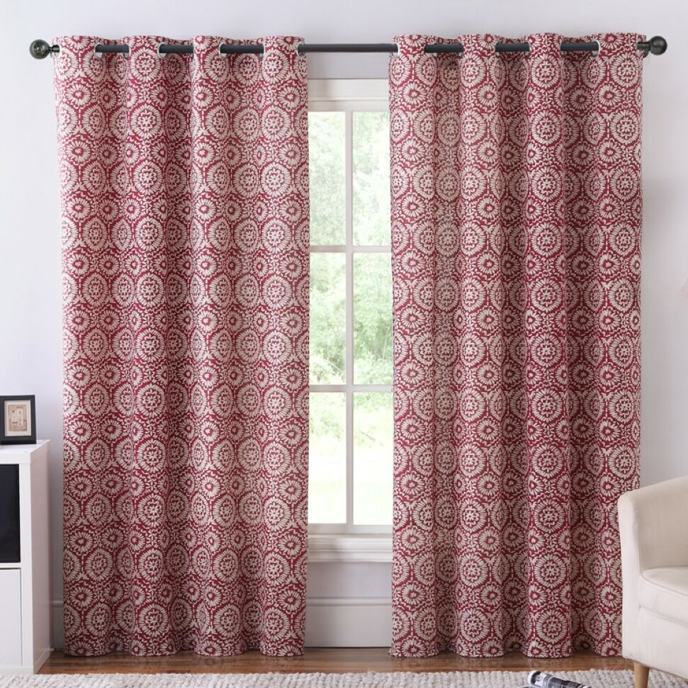 Ruthy 39 S Outlet Blackout Curtain Panels Wayfair