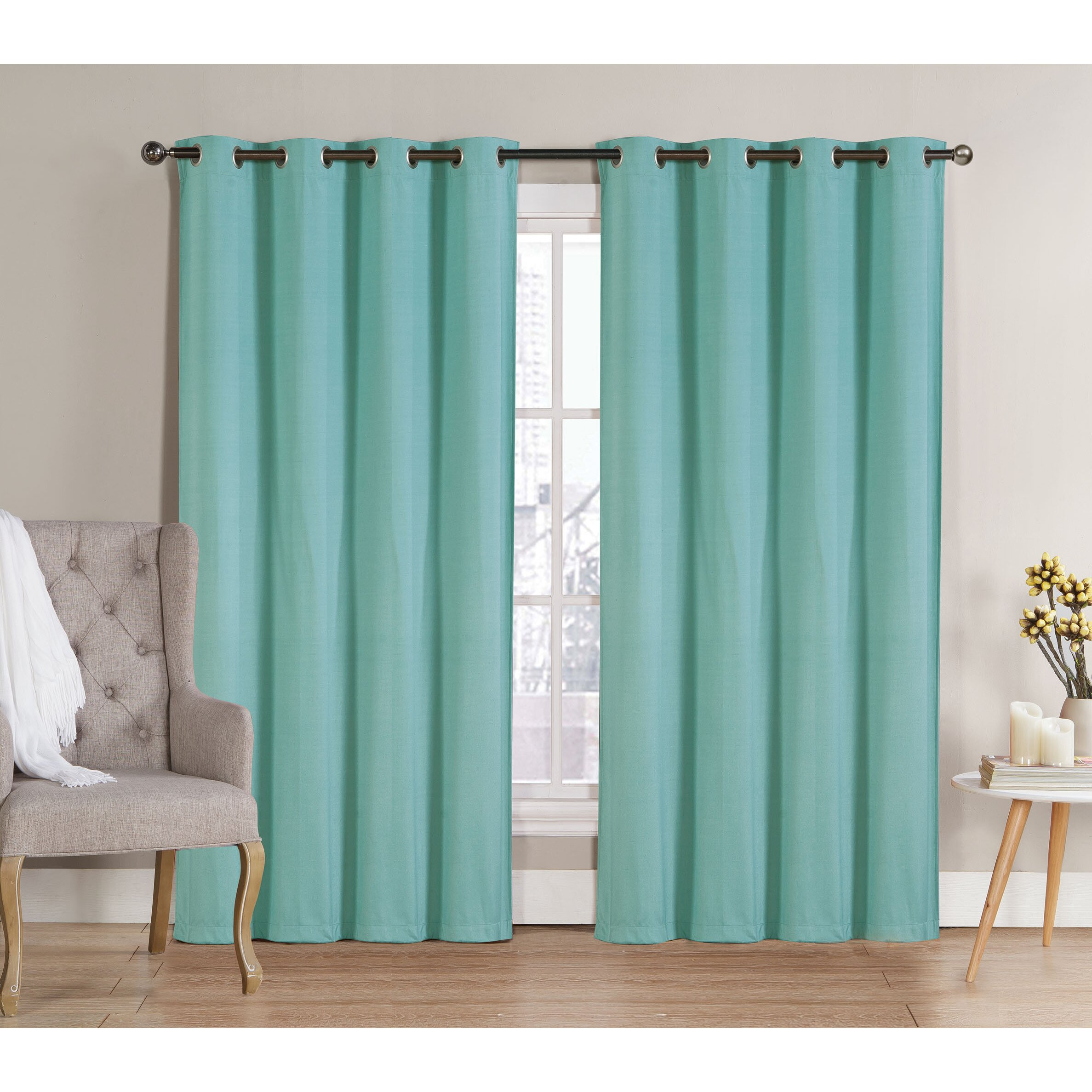 Ruthy 39 S Outlet Blackout Curtain Panels Reviews Wayfair