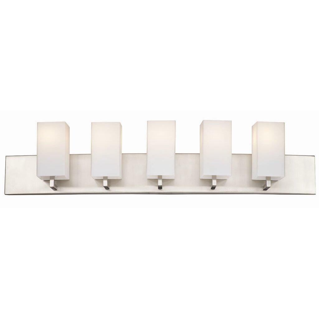 5 Light Bathroom Vanity Light PCD Homes. Buday Bathroom