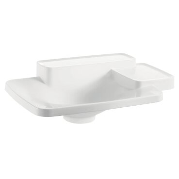 axor axor bouroullec small drop in bathroom sink with two
