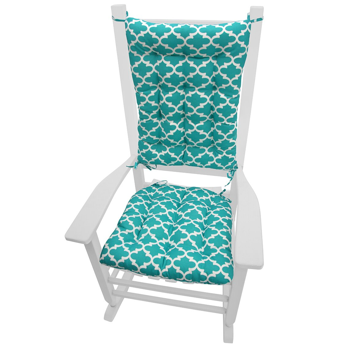 Barnett Home Decor Garden Outdoor Rocking Chair Cushion