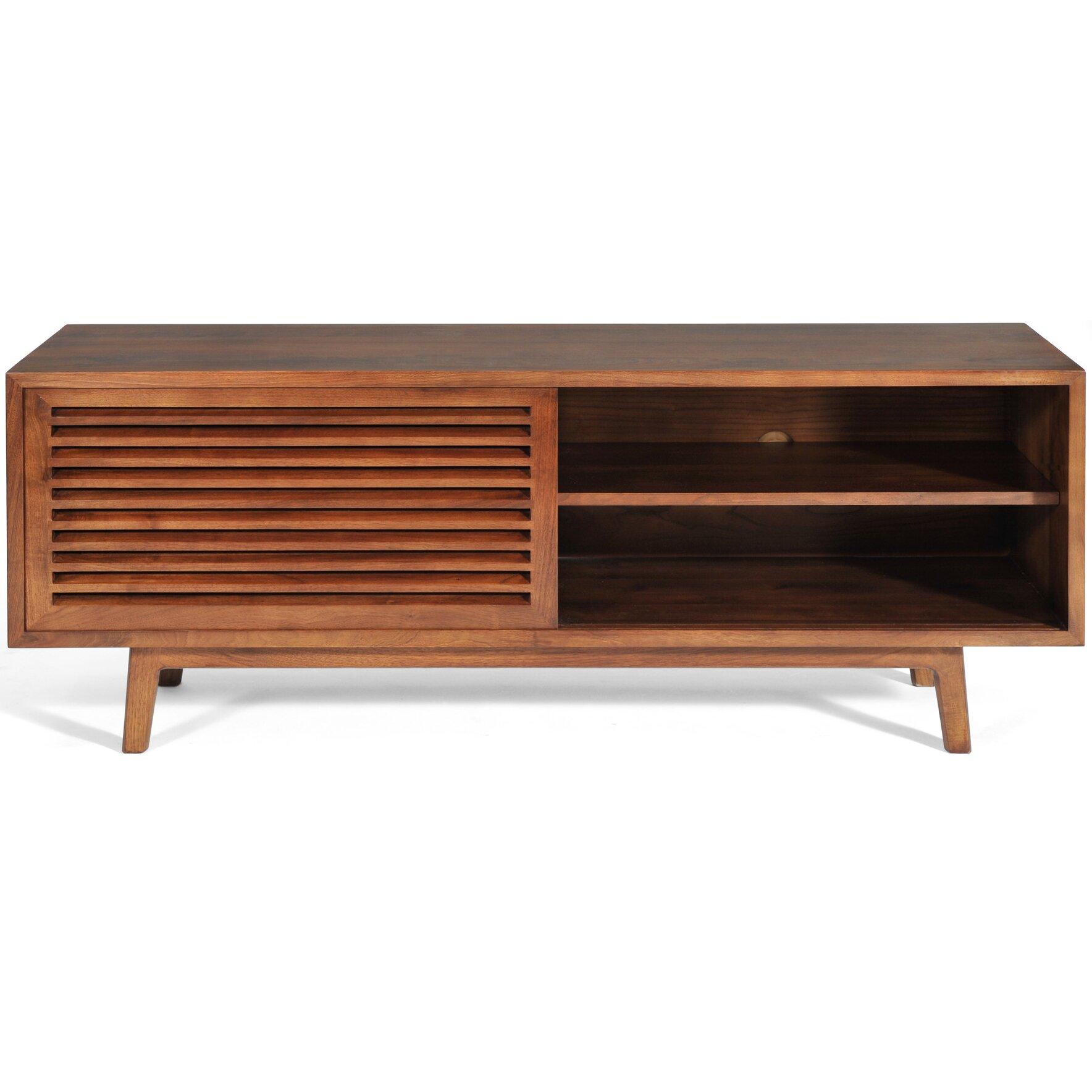 Gingko home furnishings lewis tv stand wayfair for Home decor furniture