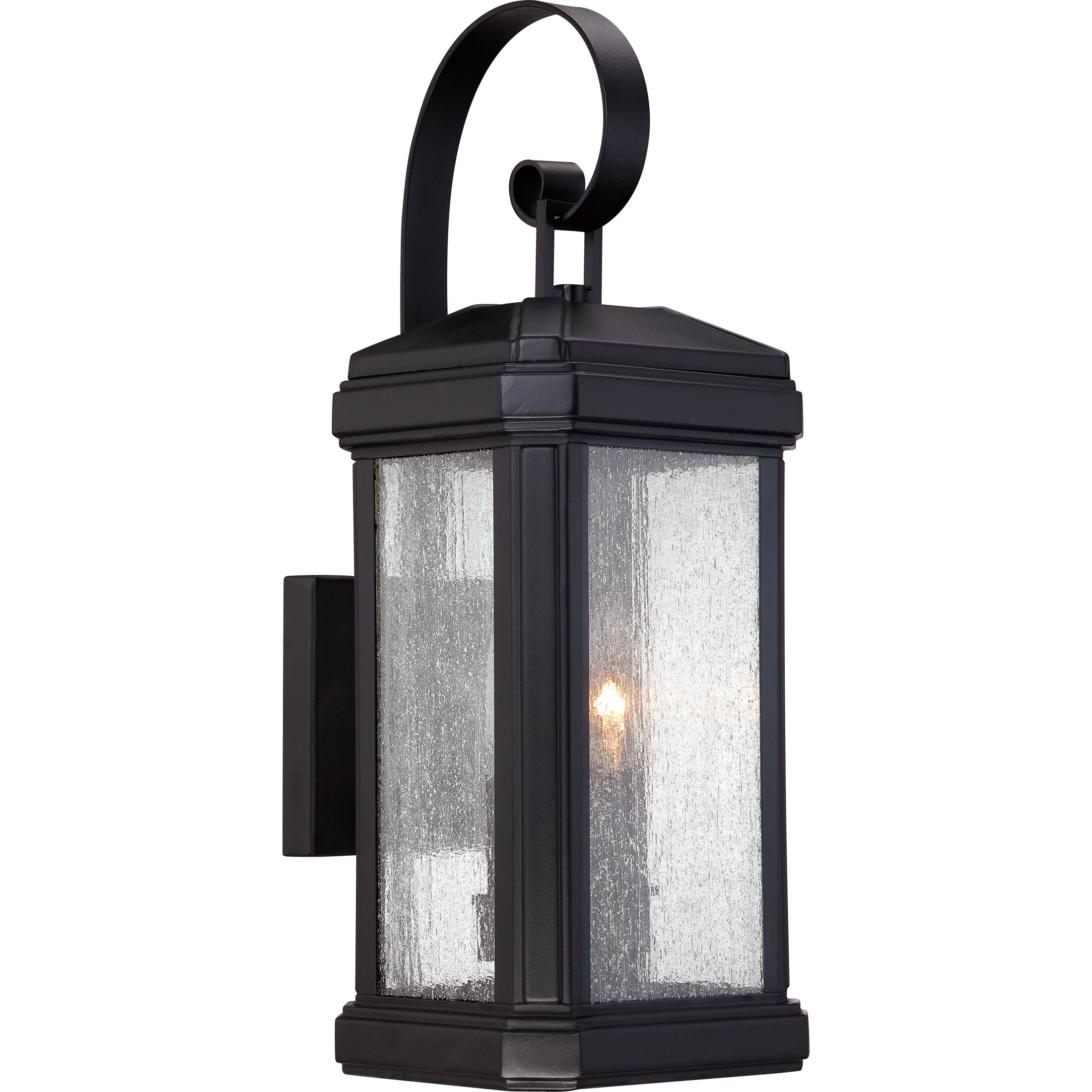Quoizel Trumbull 2 Light Outdoor Wall Lantern Reviews Wayfair