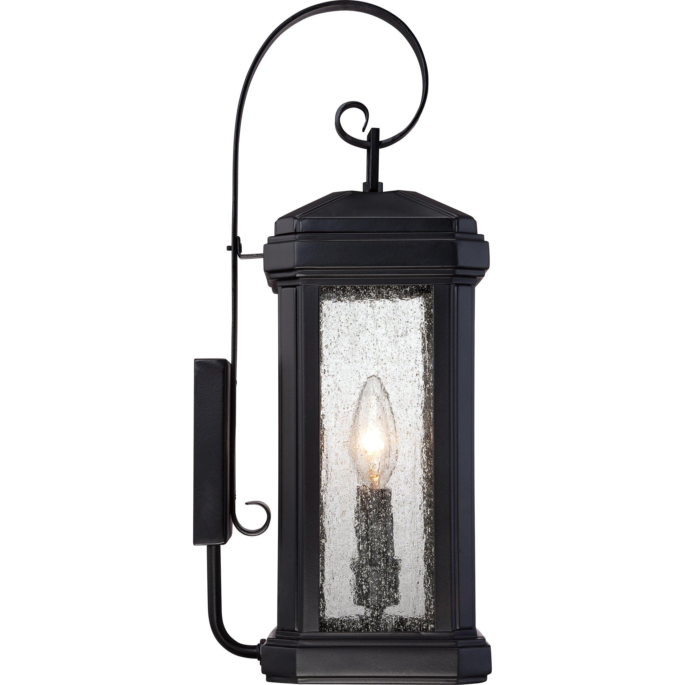 Quoizel Trumbull 2 Light Outdoor Wall Lantern & Reviews Wayfair