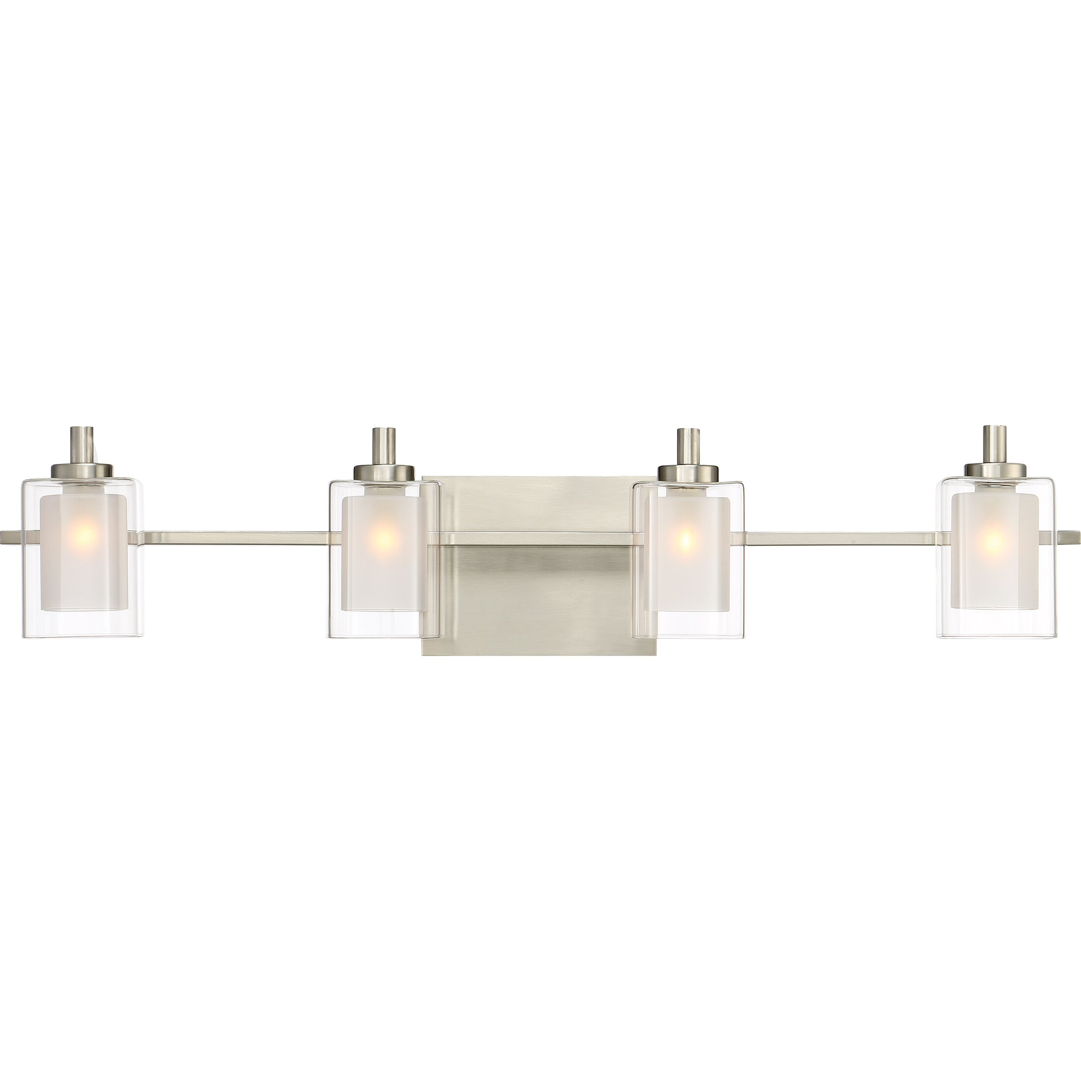 Quoizel Vanity Lights : Quoizel Kolt 4 Light Vanity light & Reviews Wayfair
