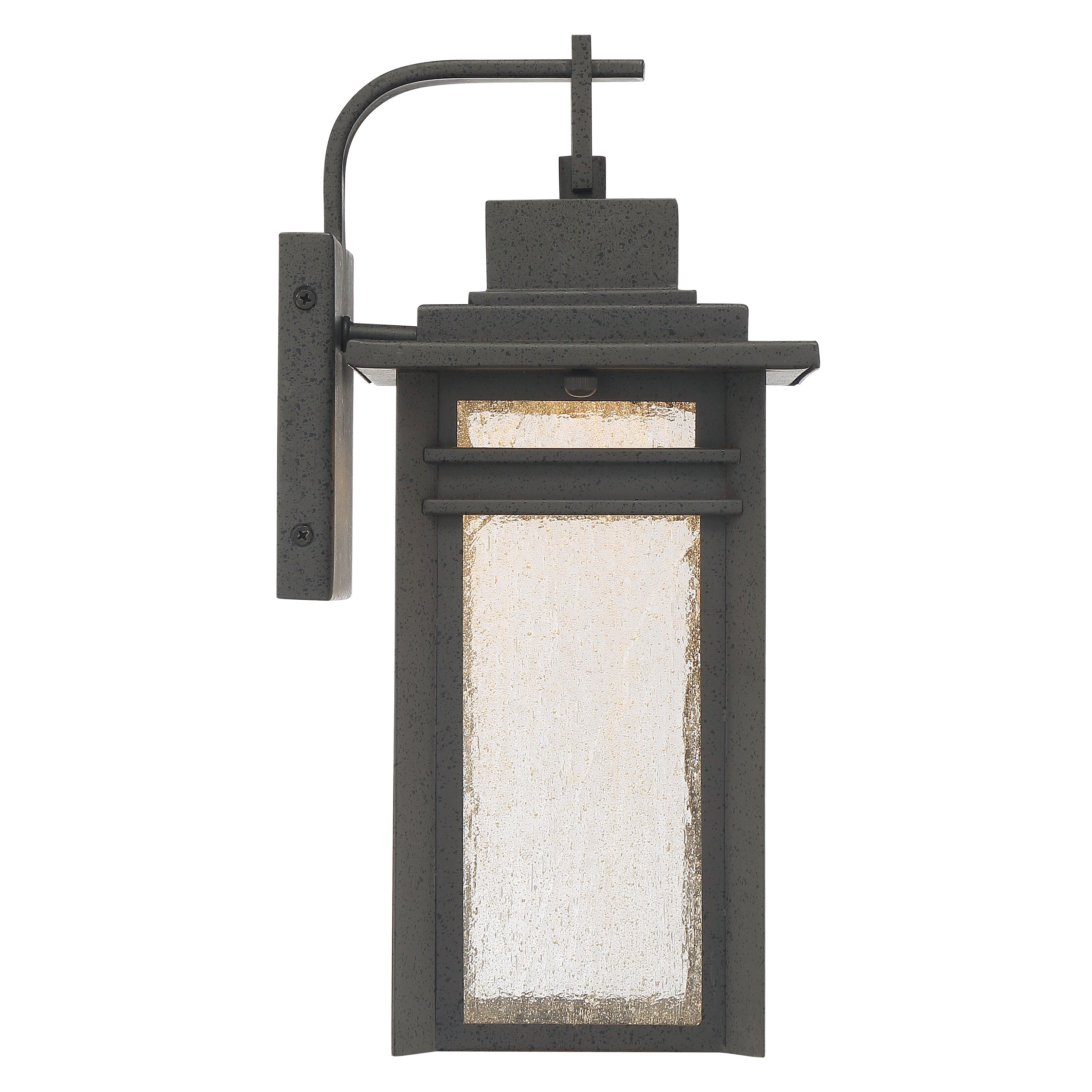 Beacon Lighting Exterior Wall Lights : Quoizel Beacon 1 Light Outdoor Wall Lantern Wayfair