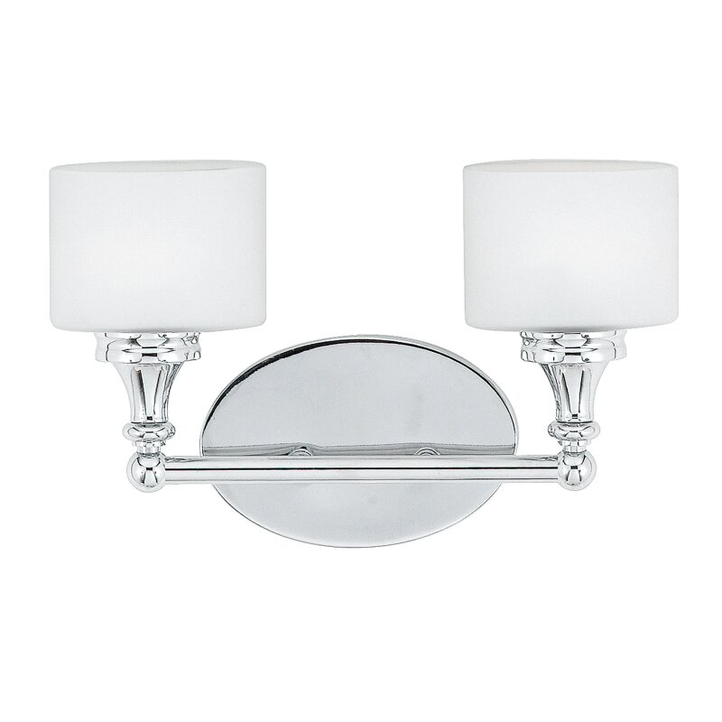 Quoizel Bathroom Vanity Lights : Quoizel Quinton 2 Light Vanity Light & Reviews Wayfair