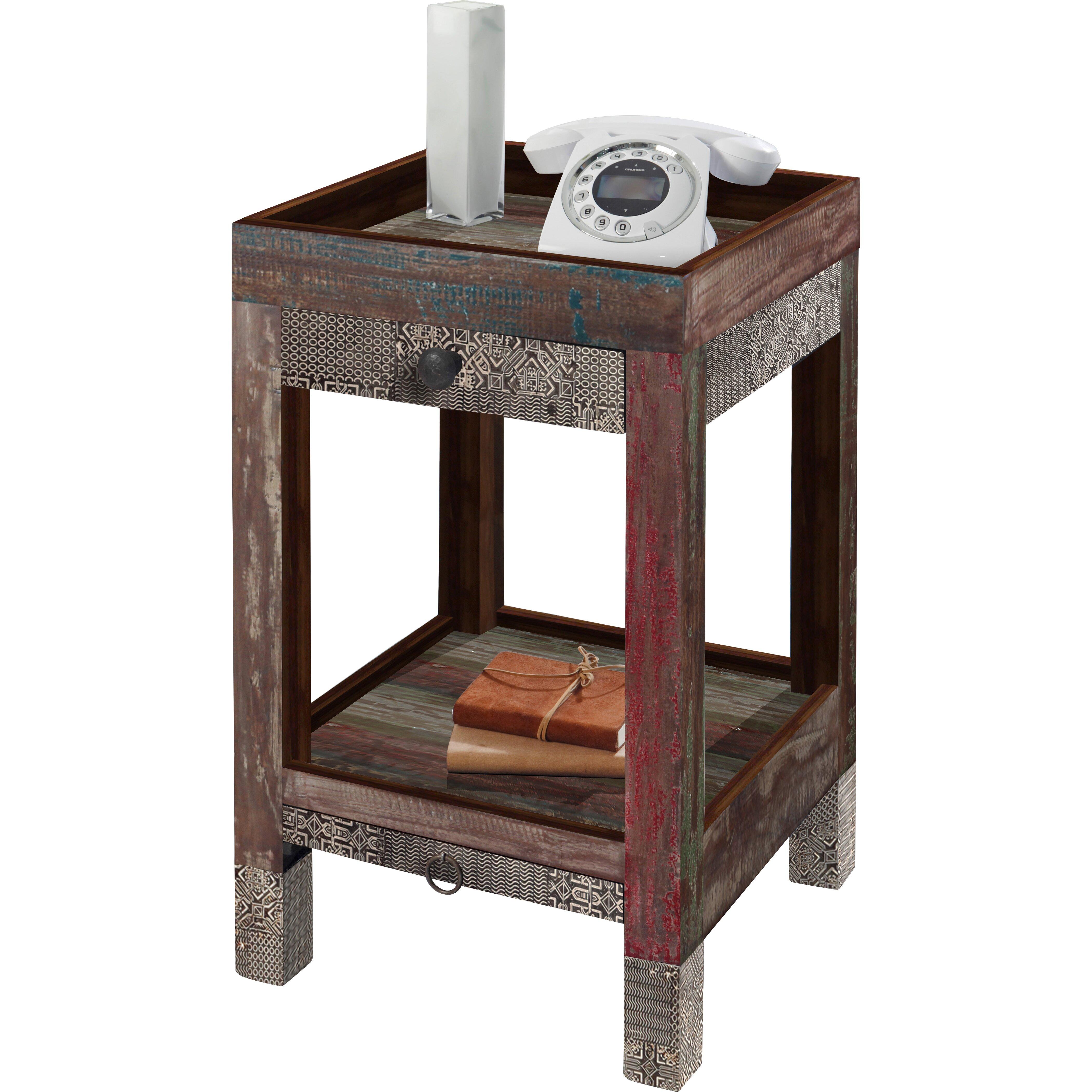 wolf m bel goa telephone table reviews wayfair uk. Black Bedroom Furniture Sets. Home Design Ideas