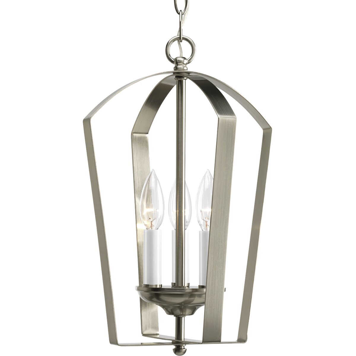 Foyer Pendant Lighting : Progress lighting gather light hall and foyer pendant