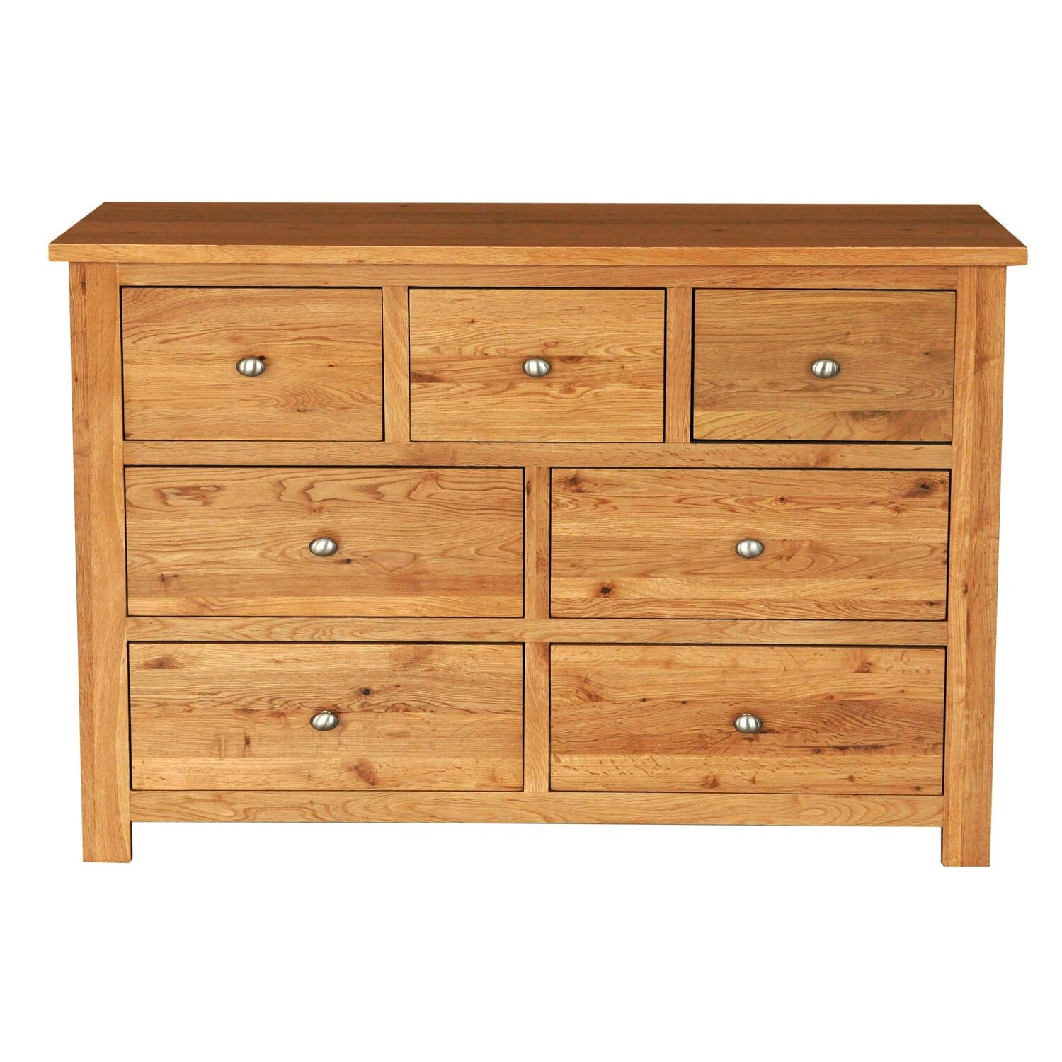 Hallowood furniture new waverly 7 drawer chest of drawers for Furniture news