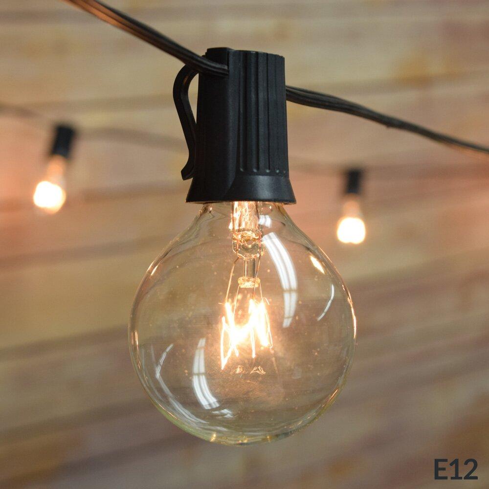 Globe Lantern String Lights : ThePaperLanternStore 25 Light 12 ft. Globe String Lights & Reviews Wayfair