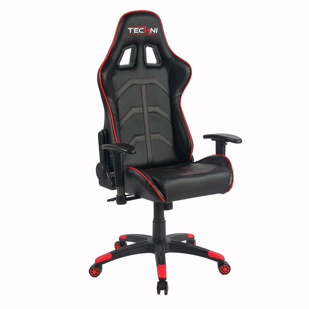 Reclining Video Game Chairs Furniture Game Room Furniture ... Reclining Gaming Chairs Techni Sport ...