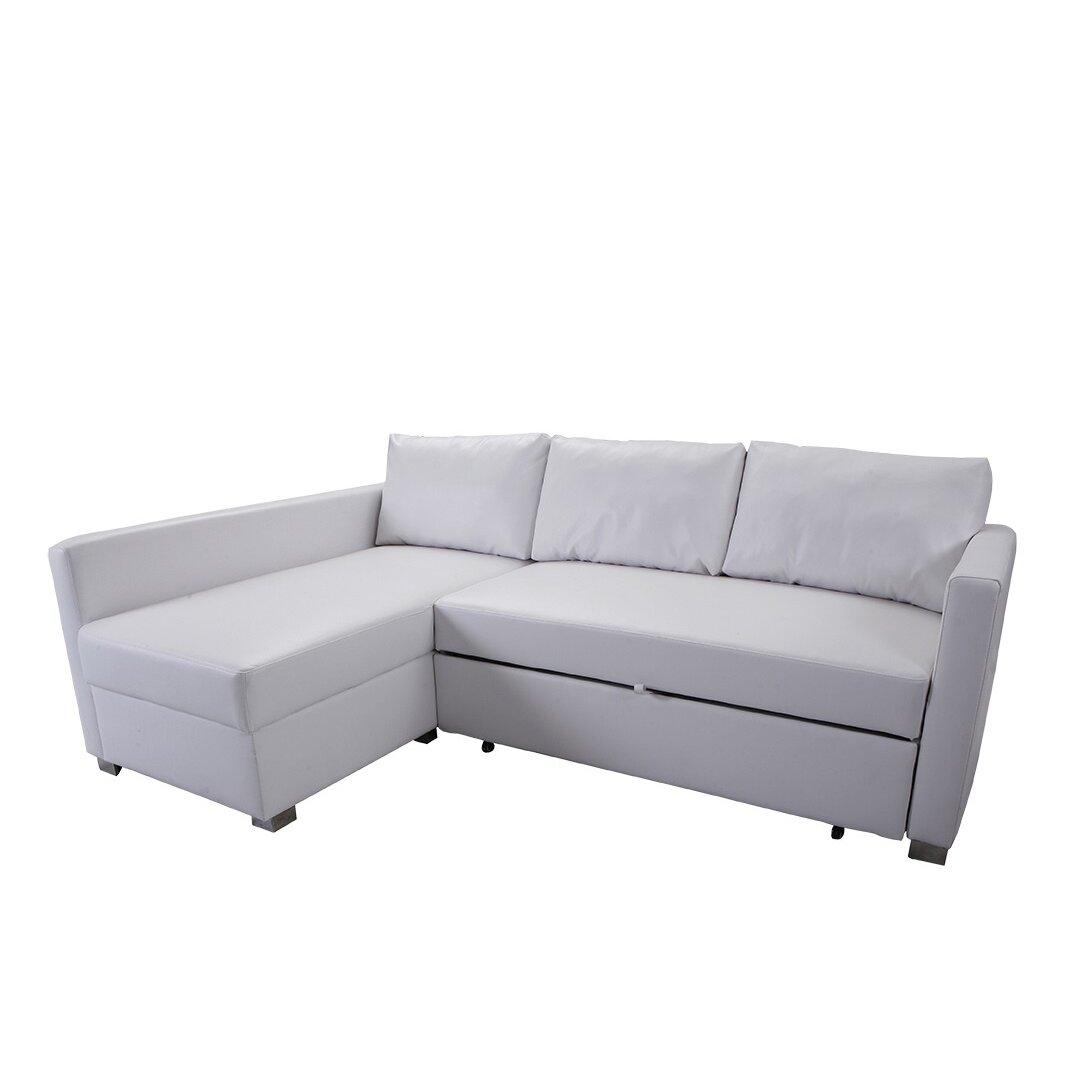 Urbanmod urbanmod aaron sectional wayfair for Sectional sofa aarons