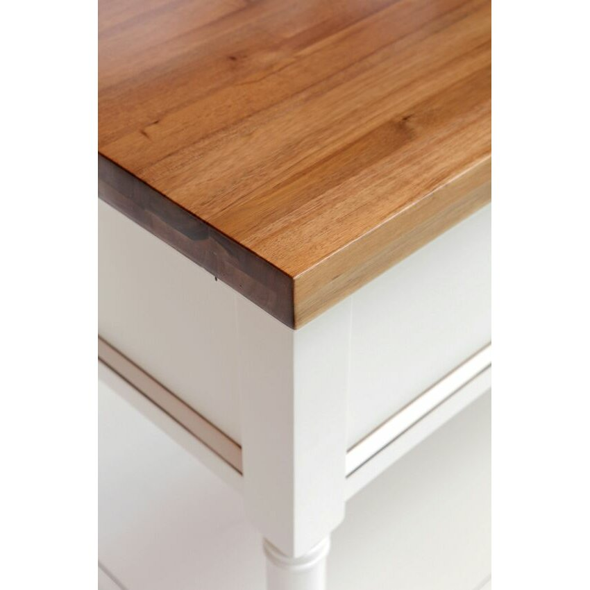 Fifth Furniture Greenwich Kitchen Island With Butcher Block Top : 222 Fifth Furniture Park Slope Kitchen Island with Butcher Block Top Wayfair