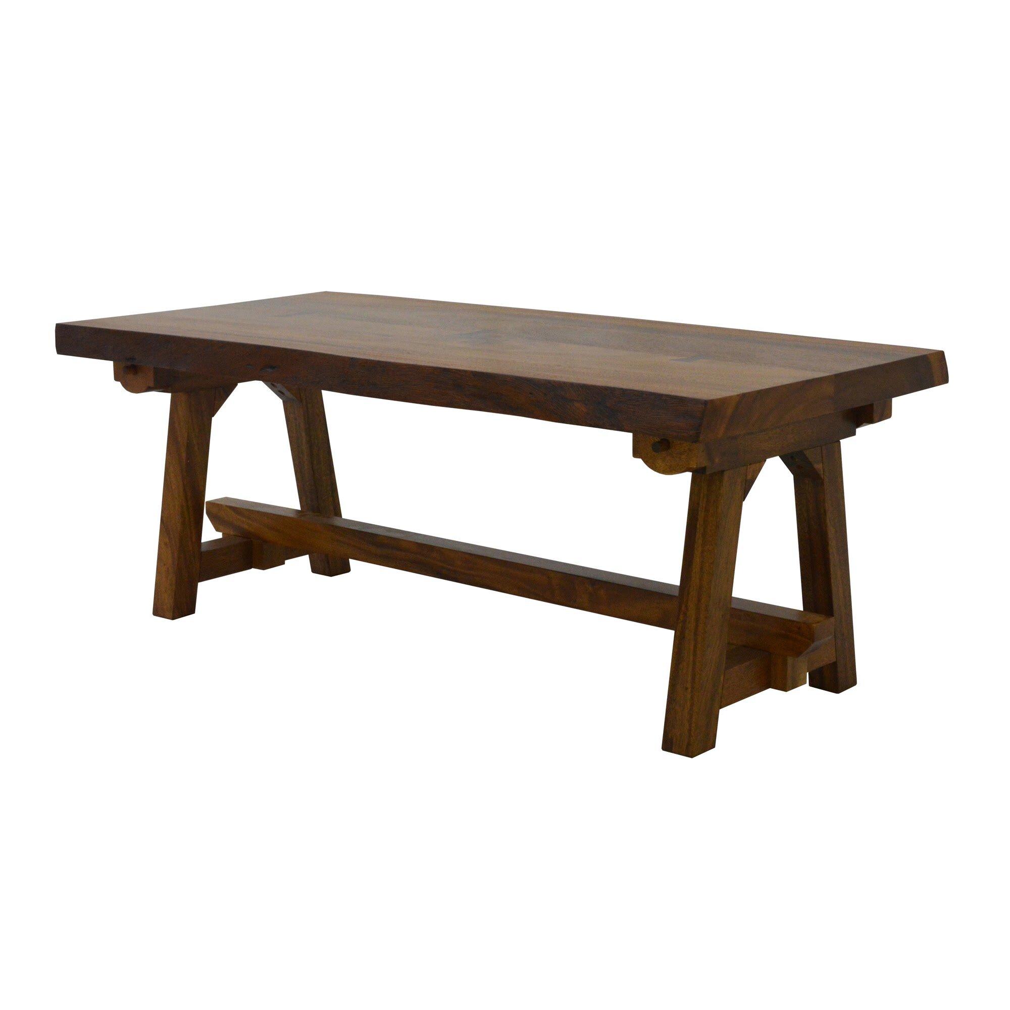 222 Fifth Furniture Ori Live Edge Foldable Coffee Table Wayfair
