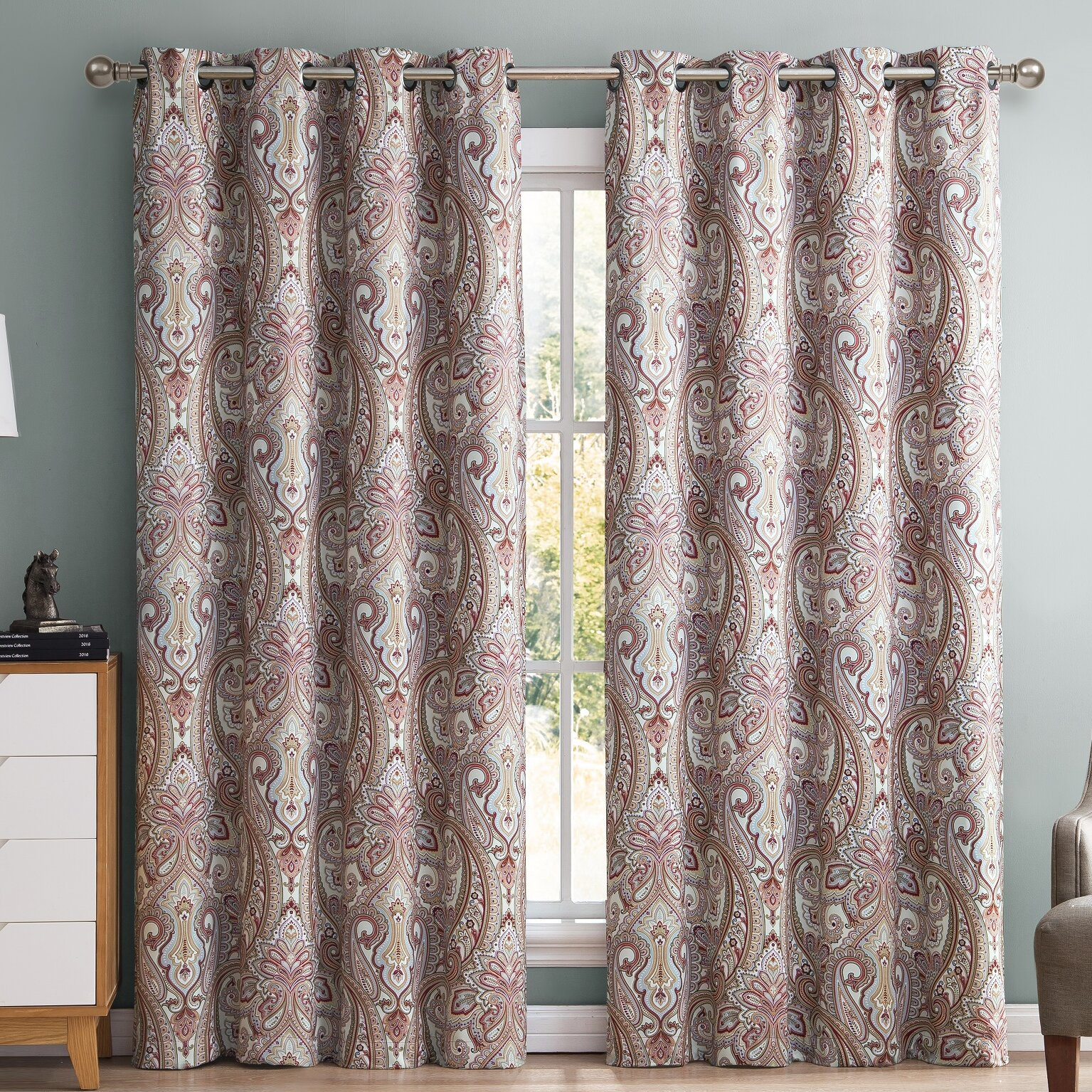 indoor outdoor blackout thermal curtain panels reviews wayfair