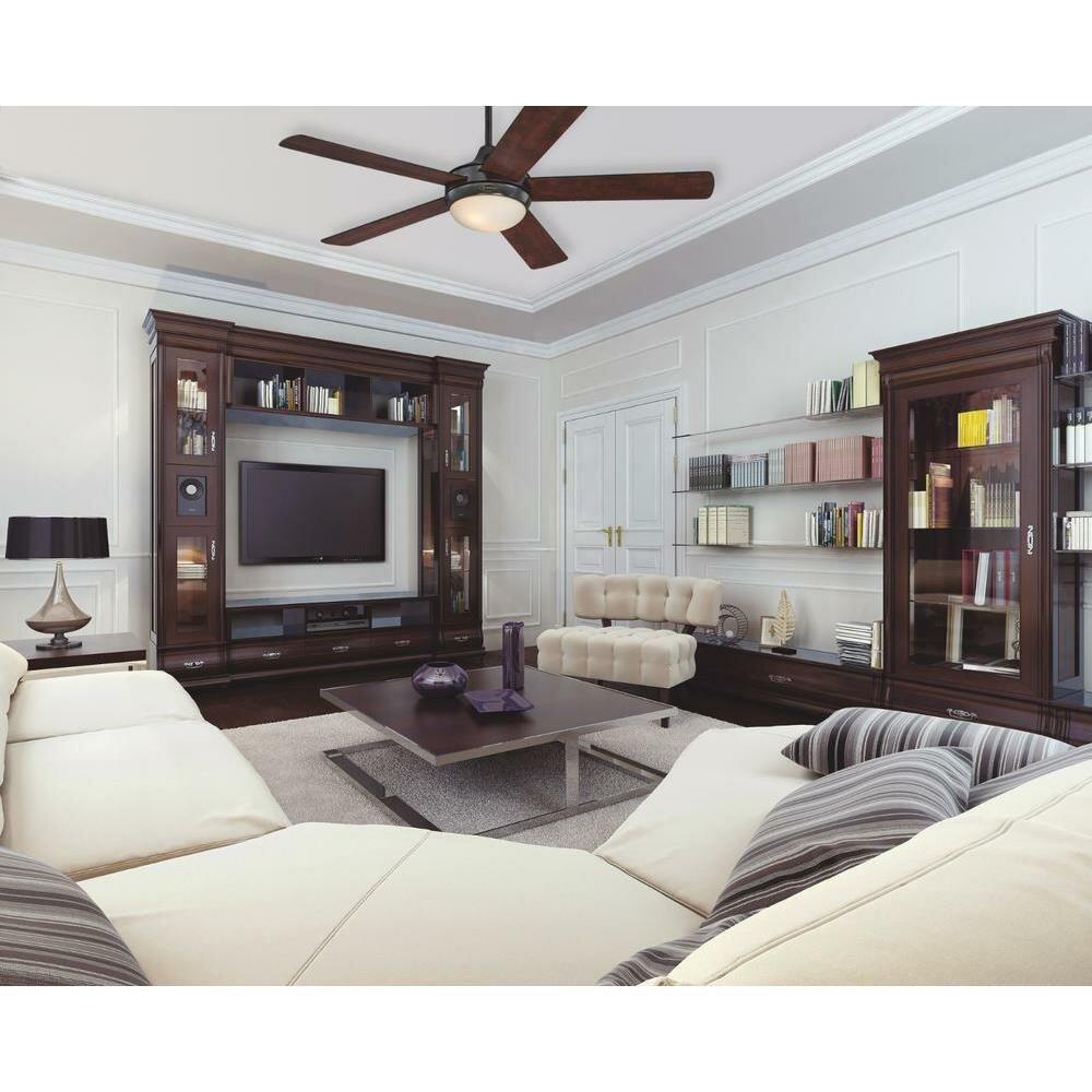 Westinghouse lighting 52 zander 5 blade indoor ceiling - Westinghouse and living ...