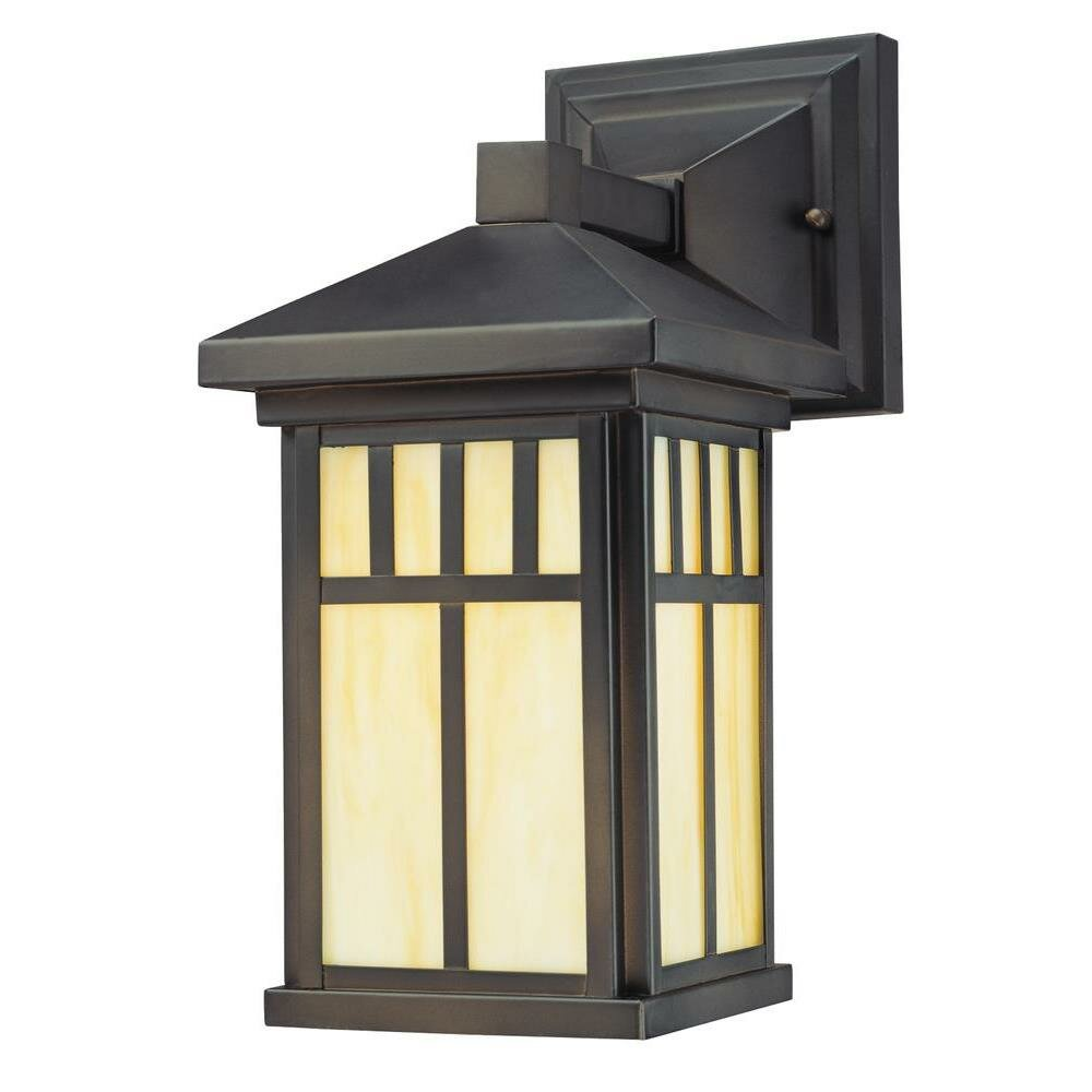 Westinghouse Lighting Burnham 1 Light Outdoor Wall Lantern Reviews Wayfair