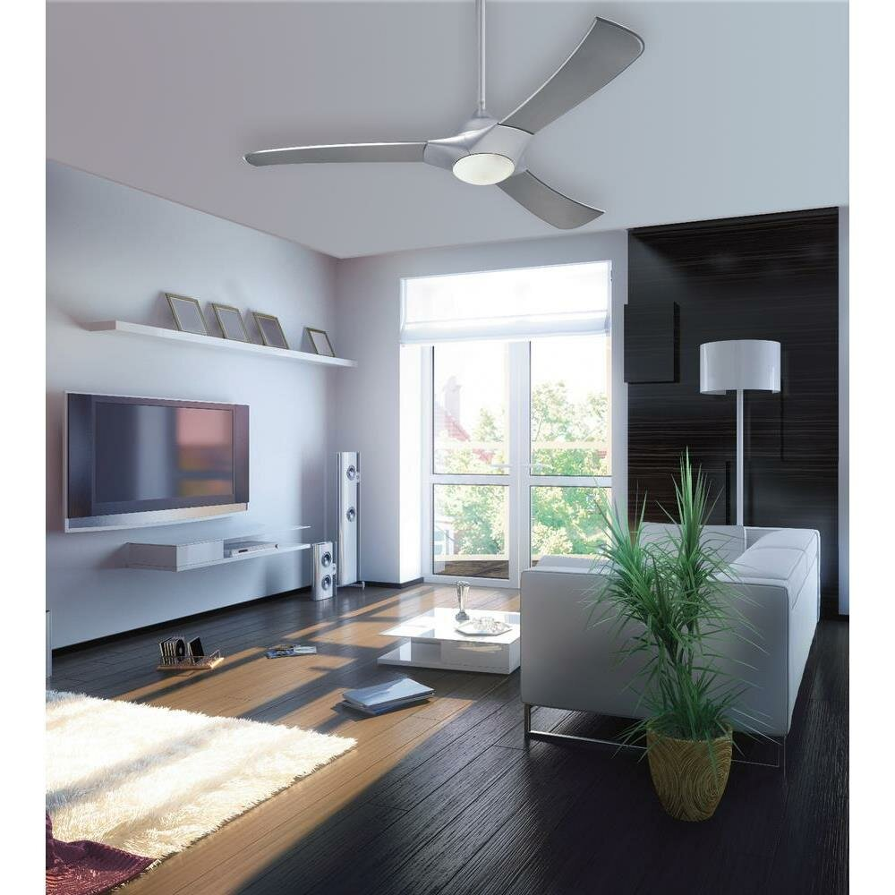 Westinghouse lighting 52 techno 3 blade ceiling fan with - Westinghouse and living ...