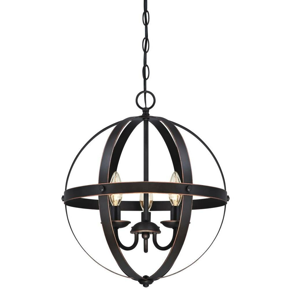 Westinghouse Lighting Stella Mira 3 Light Foyer Pendant