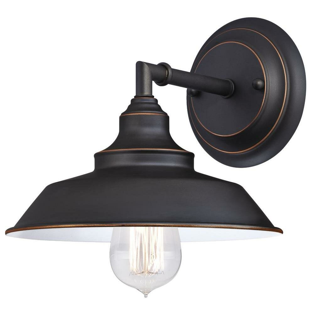 Westinghouse Lighting Iron Hill 1 Light Indoor Wall Fixture & Reviews Wayfair