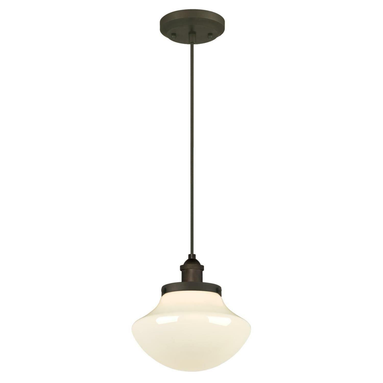 westinghouse lighting 1 light schoolhouse pendant