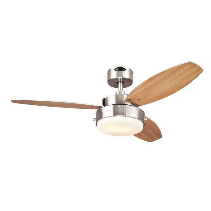 "Westinghouse Lighting 42"" Alloy 3 Blade Ceiling Fan"