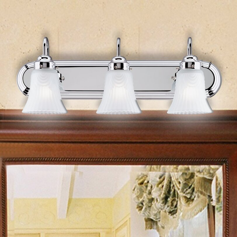 Westinghouse Lighting 3 Light Vanity Light Amp Reviews Wayfair