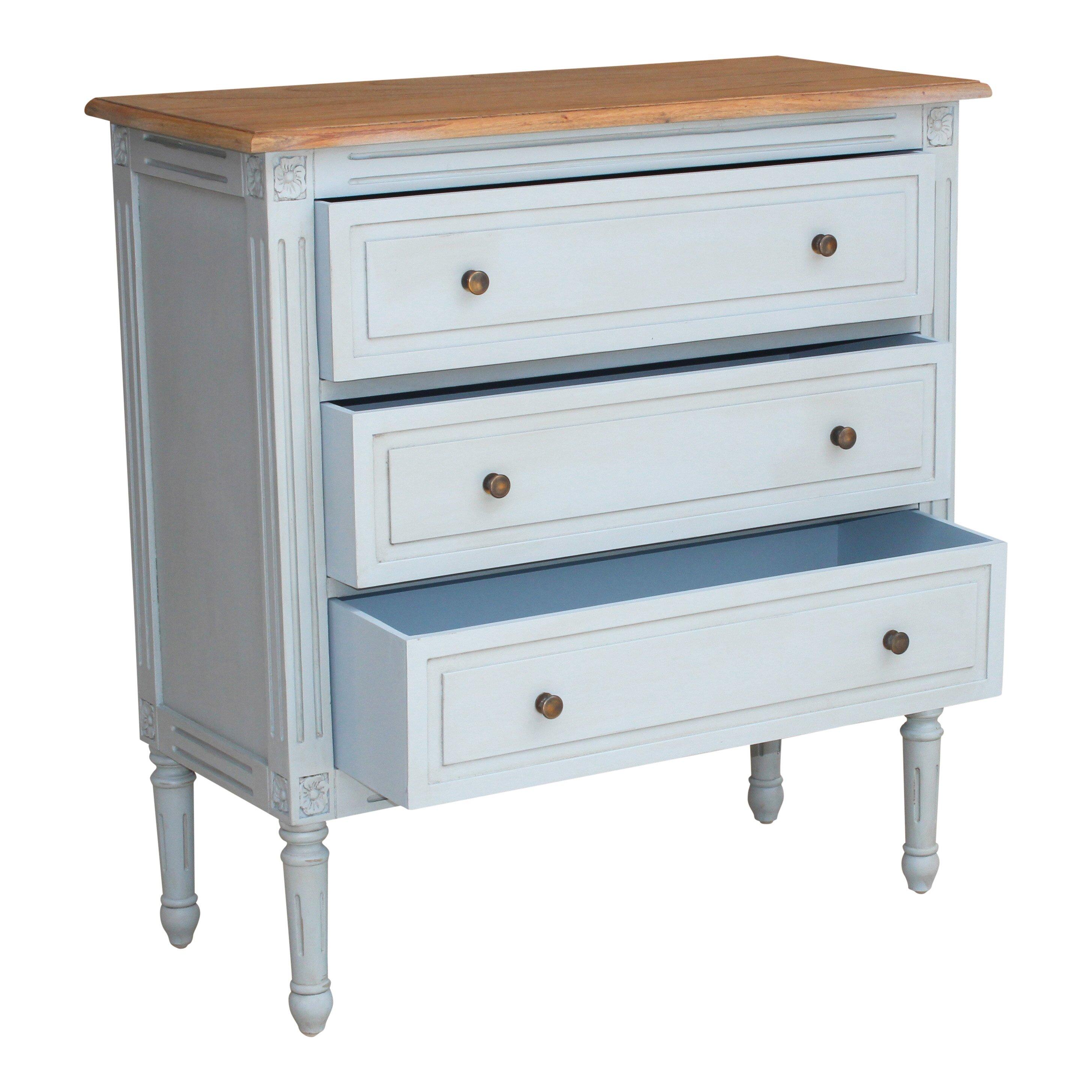 Maine Furniture Co Hope 3 Drawer Chest Wayfair Uk