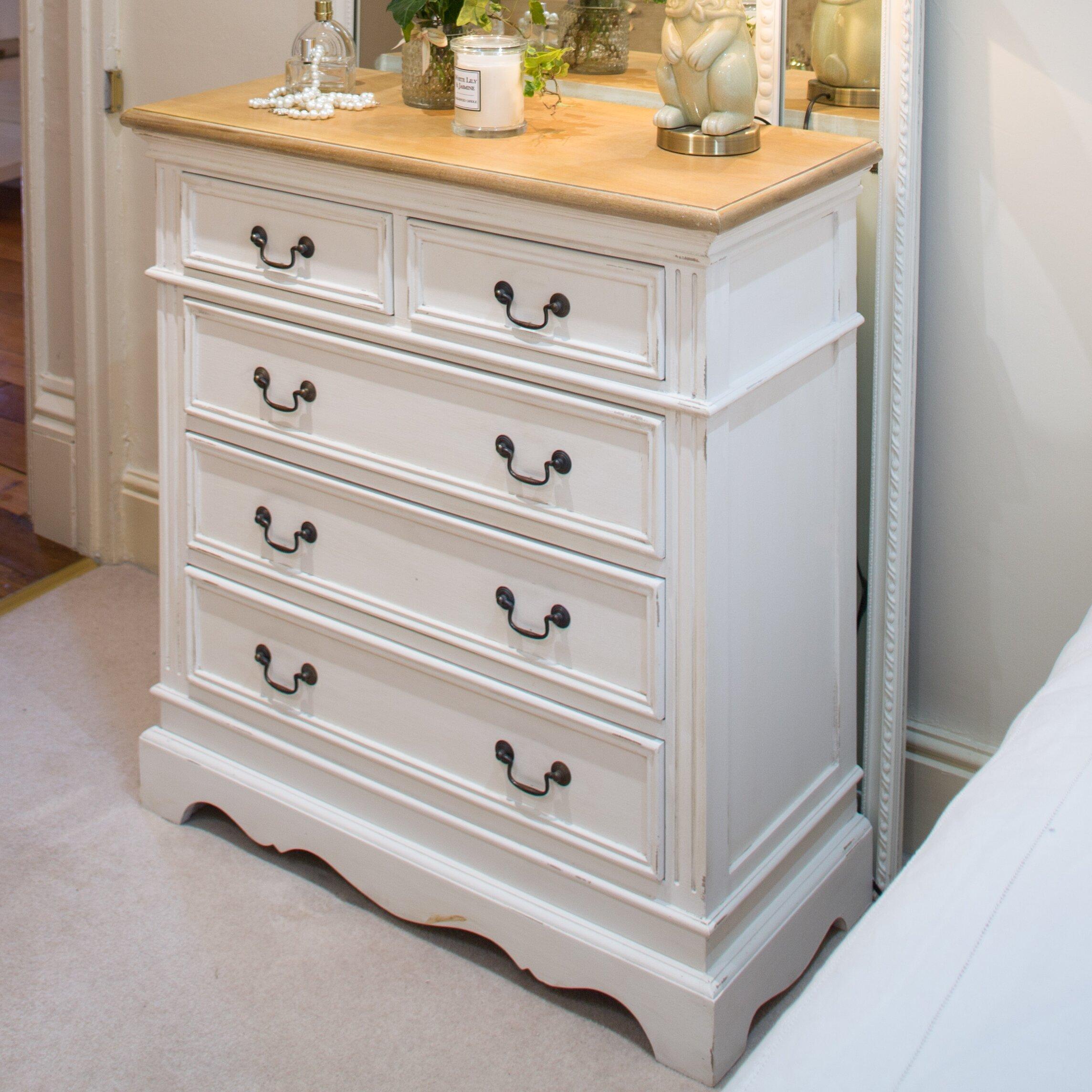 Maine Furniture Co Sebago 5 Drawer Chest Of Drawers Reviews Wayfair Uk