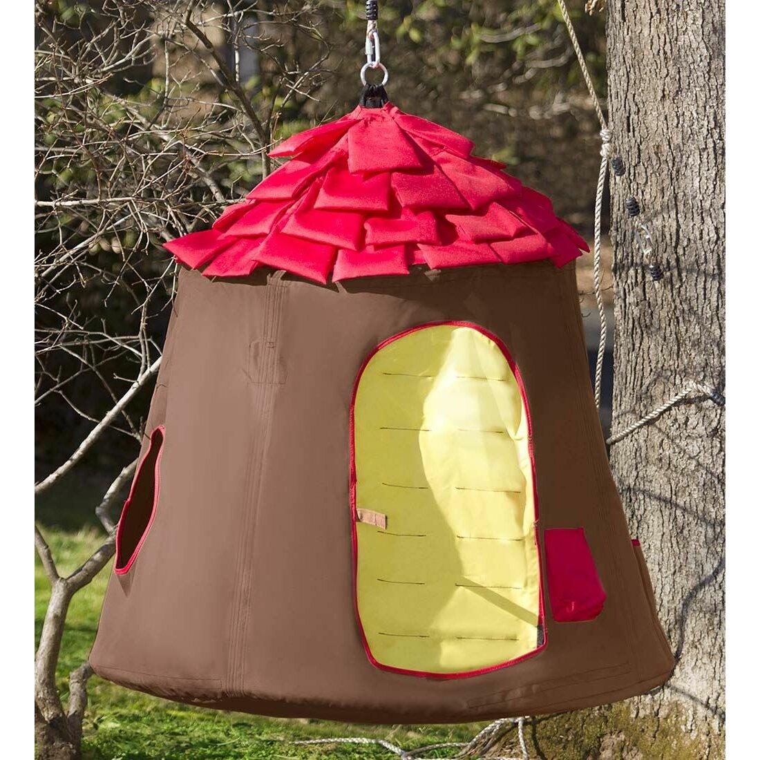 Magic cabin go hangout hugglepod tree fort wayfair for Magic cabin tree fort kit