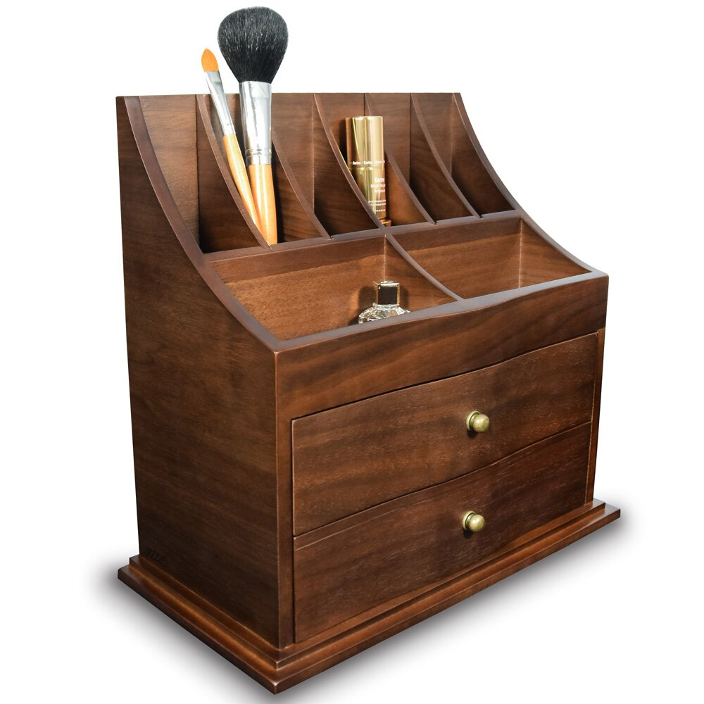 ikee design premium wooden cosmetic storage and office