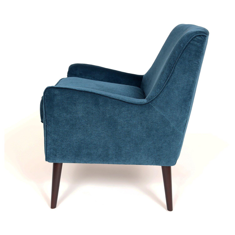 Porter international designs kristina mid century modern for Modern arm chair