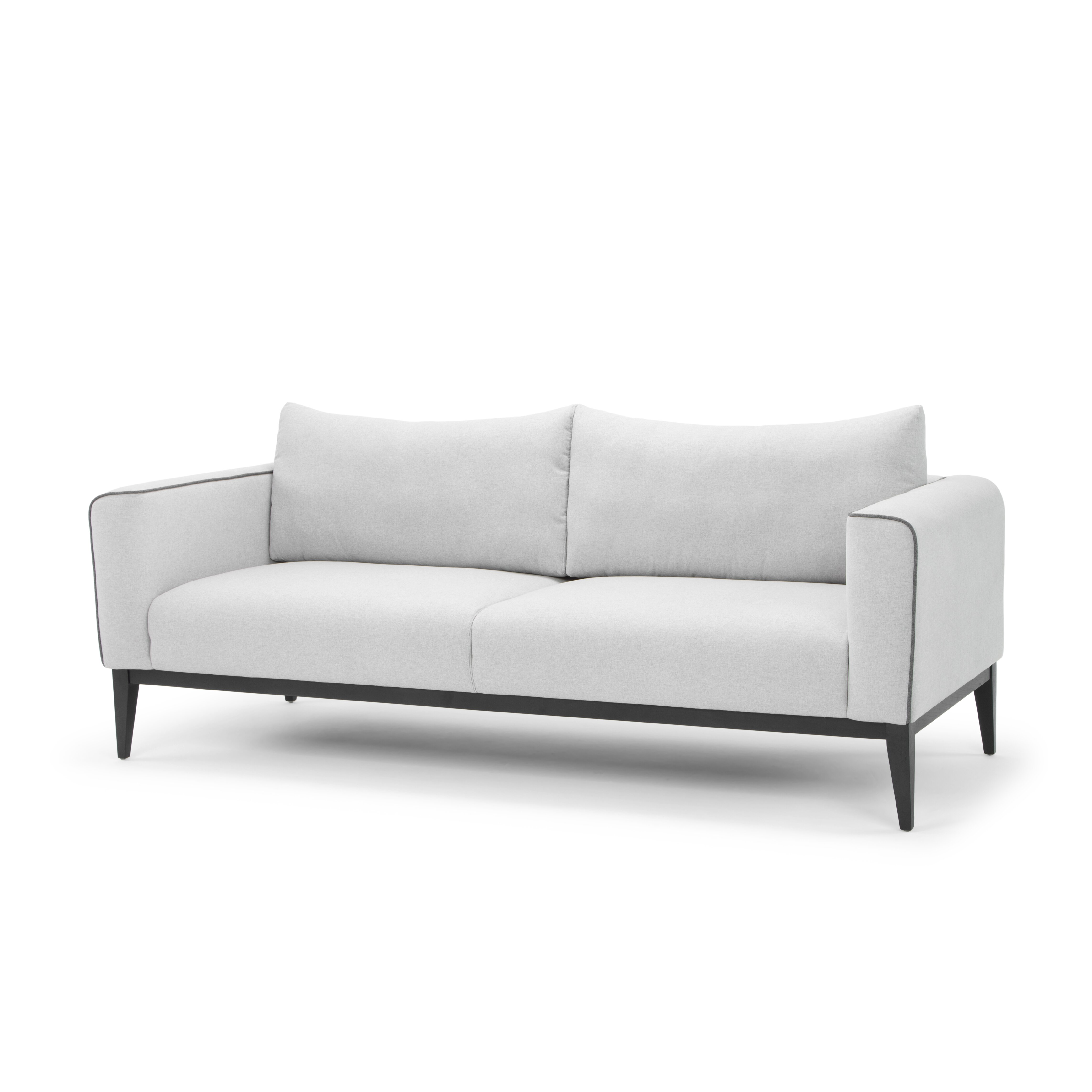 Nordic upholstery storm classic mid century modern sofa for Sofa nordic