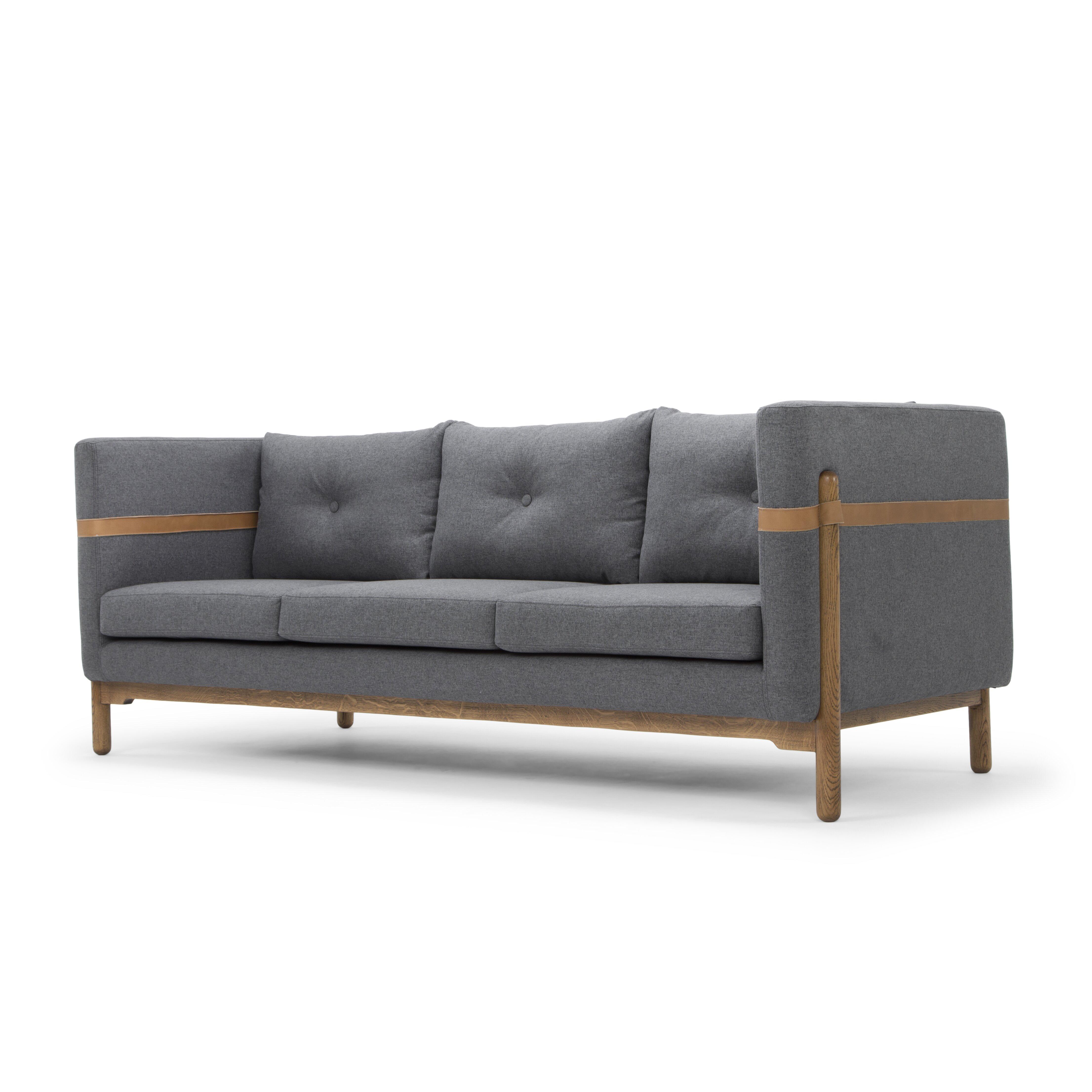 Nordic upholstery solveig classic modern sofa wayfair for Sofa nordic