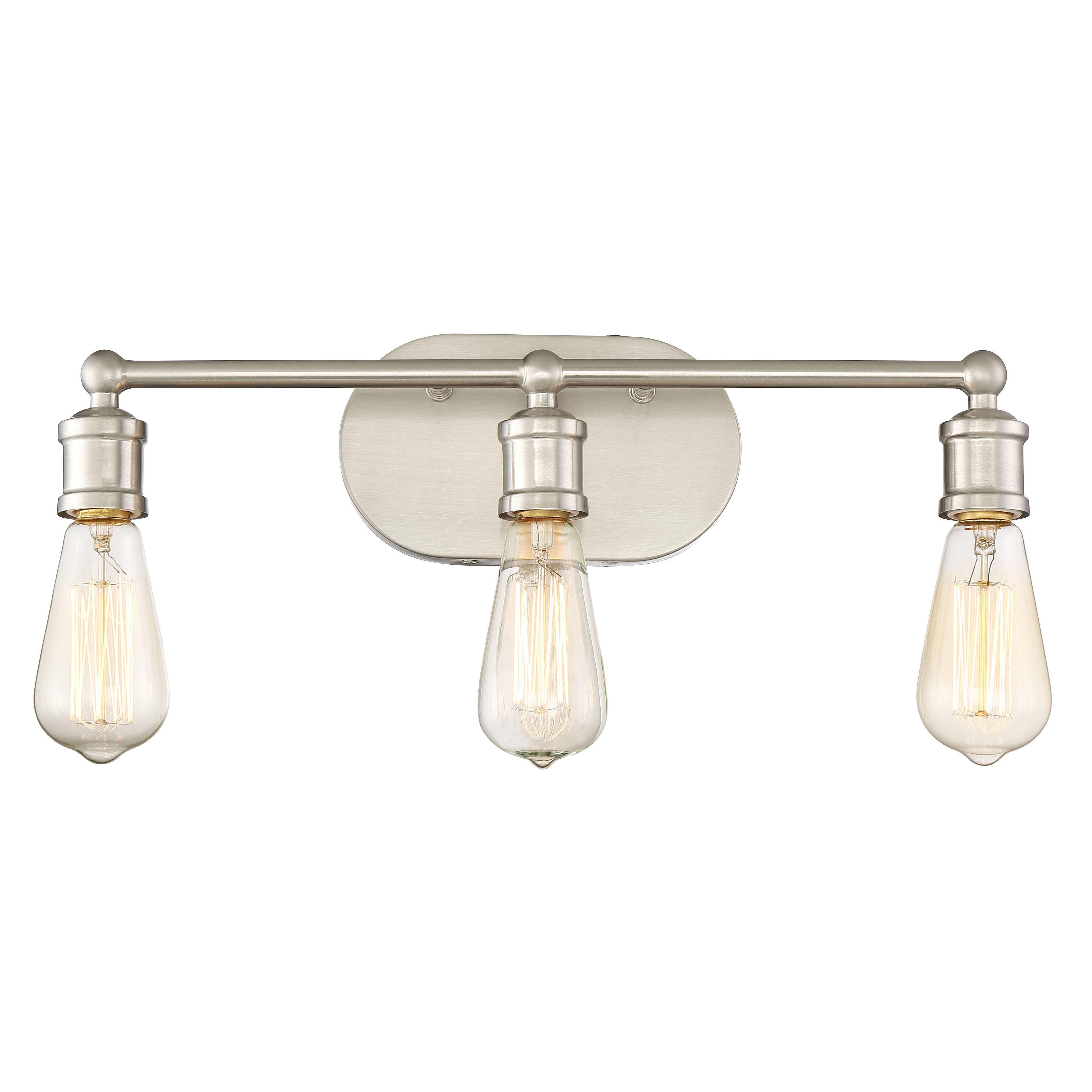 Bedroom Vanity Sets With Lights Laurel Foundry Modern Farmhouse Agave 3 Light Vanity Light
