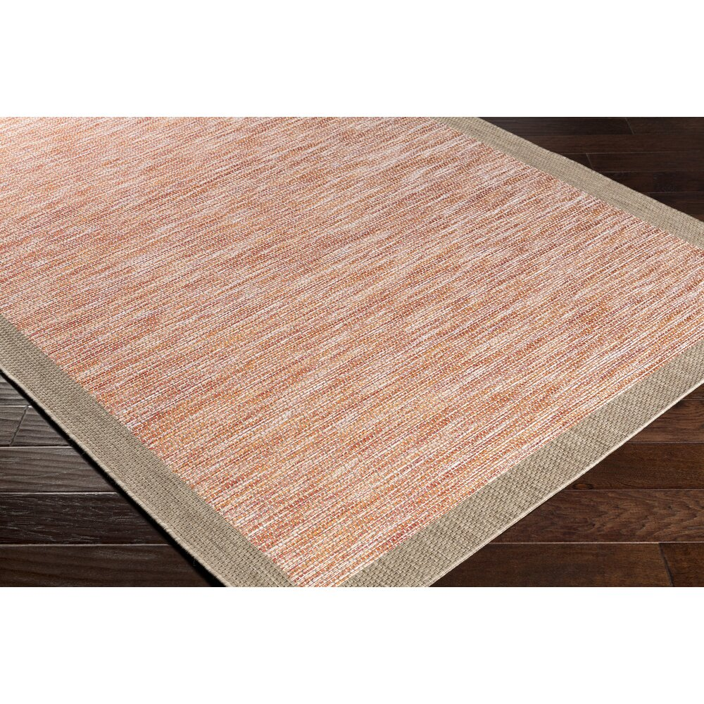 Laurel Foundry Modern Farmhouse Amelia Orange Red Area Rug