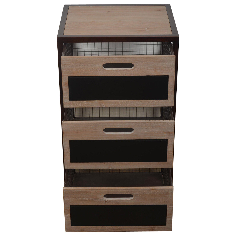 Laurel foundry modern farmhouse anglemont 3 drawer chest - Laurel foundry modern farmhouse bedroom ...
