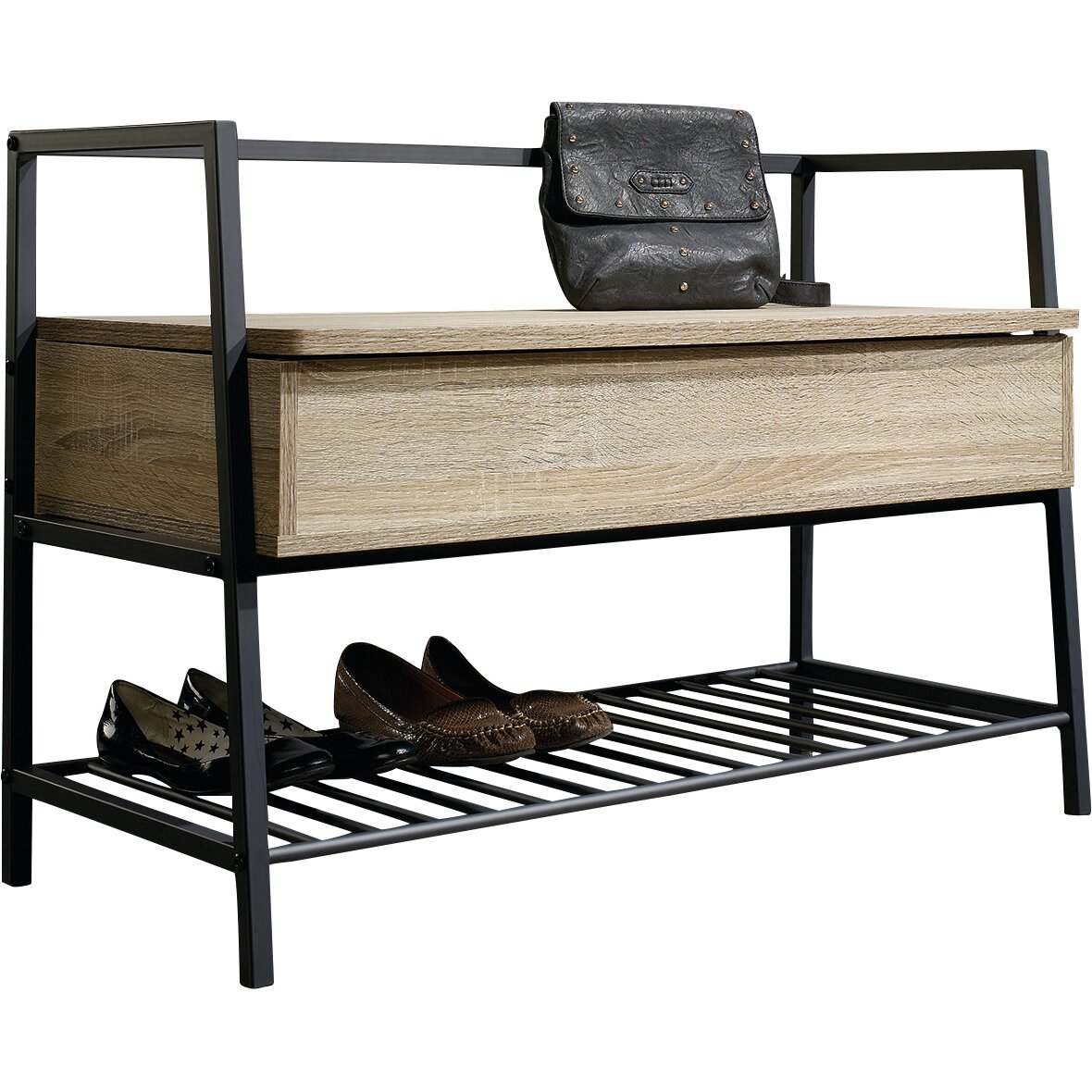 Laurel Foundry Modern Farmhouse Ermont Storage Entryway Bench Reviews