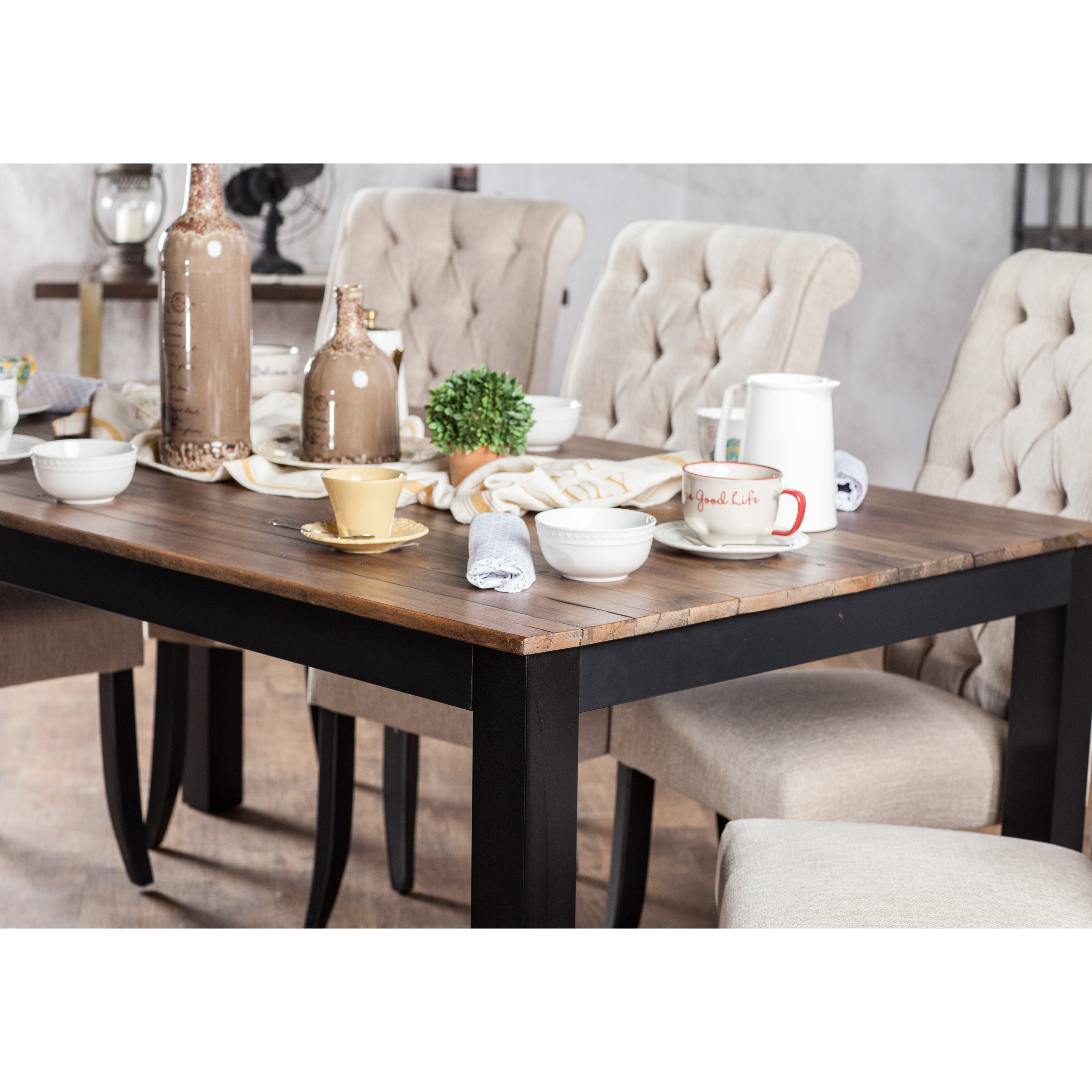 Farmhouse Dining Table: Laurel Foundry Modern Farmhouse Artemps Dining Table