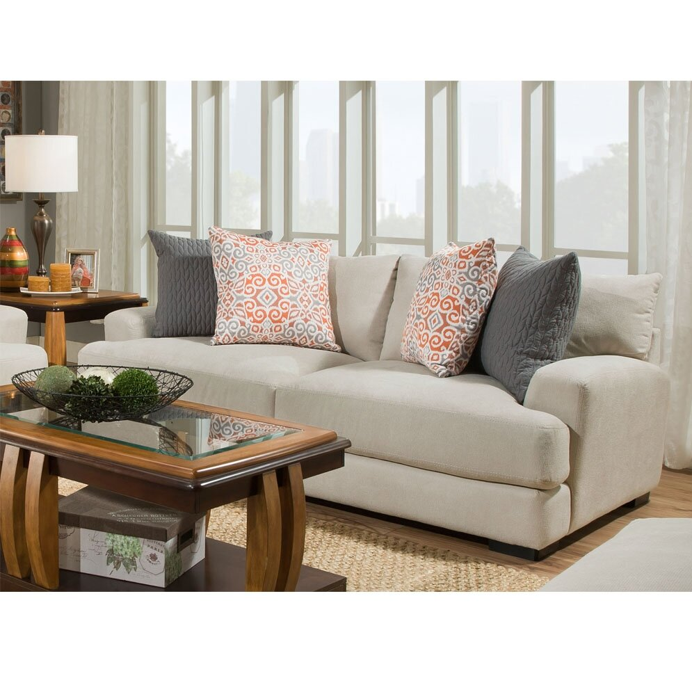 Laurel foundry modern farmhouse roxie living room collection reviews wayfair for Modern farmhouse living room furniture
