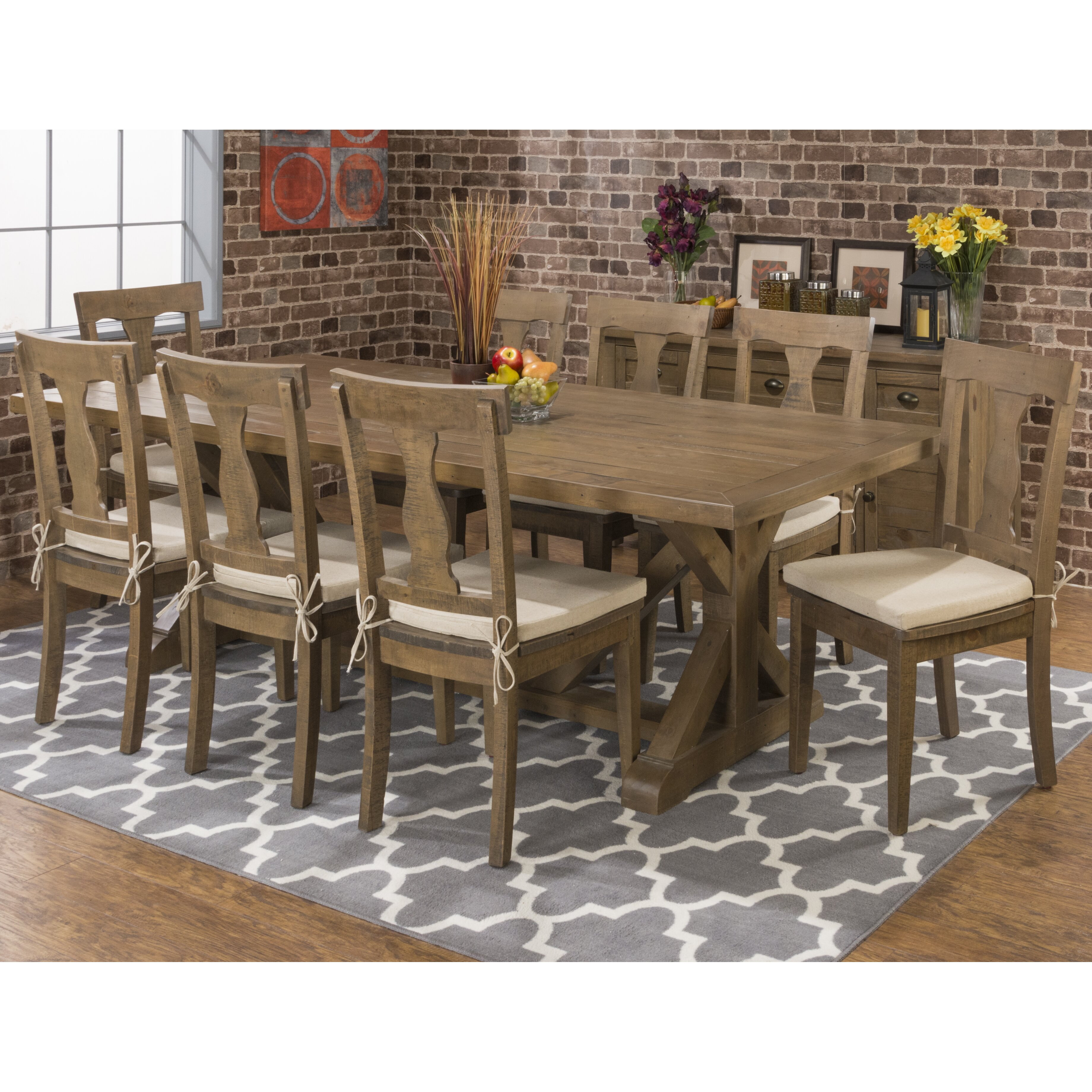 Laurel Foundry Modern Farmhouse Cannes Dining Table & Reviews