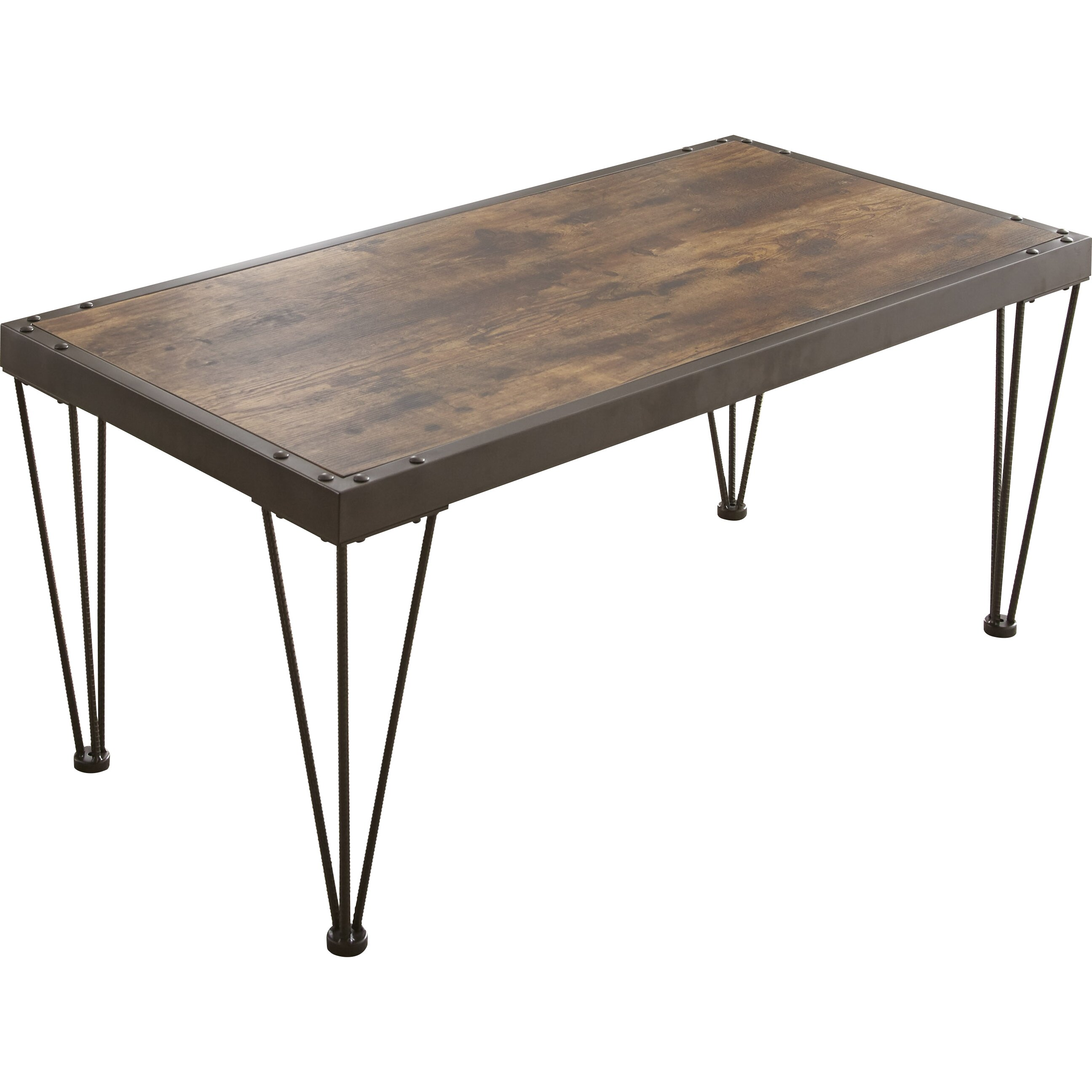 Laurel foundry modern farmhouse owen coffee table for Modern farmhouse coffee table