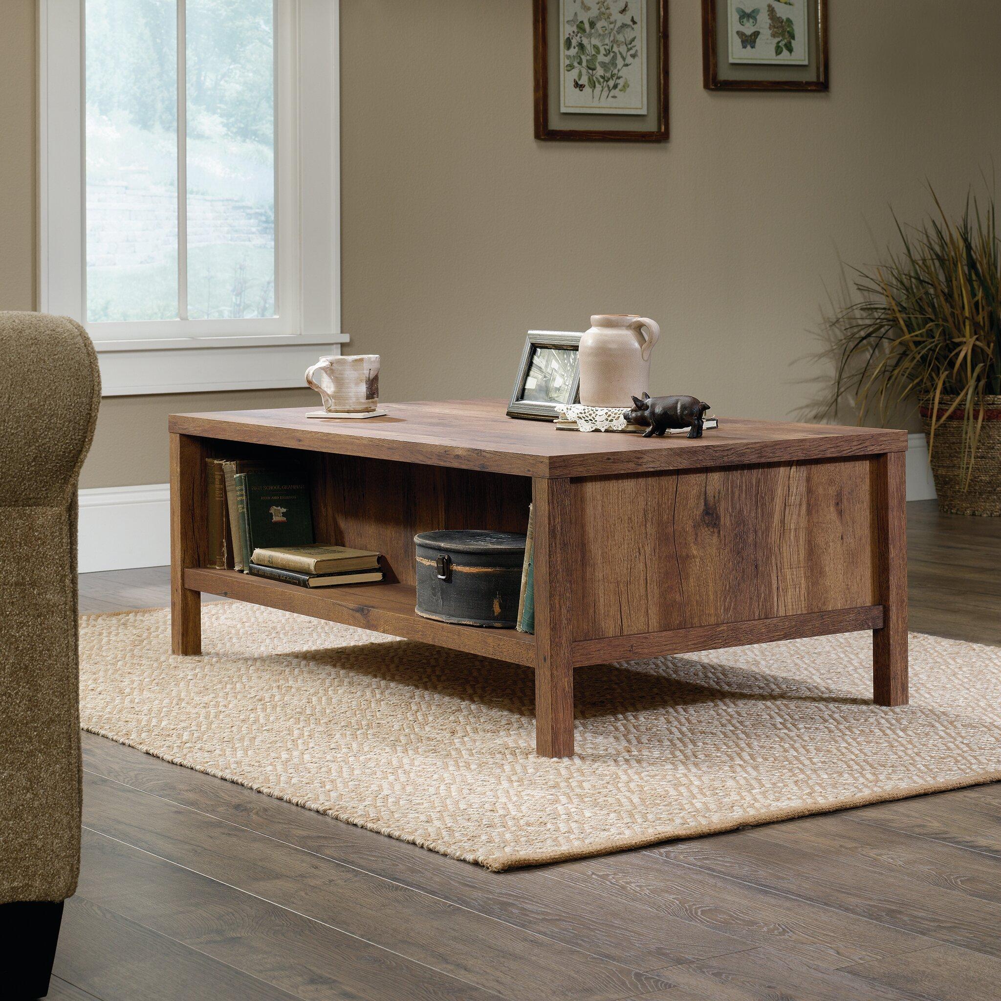 Laurel foundry modern farmhouse odile coffee table - Laurel foundry modern farmhouse bedroom ...